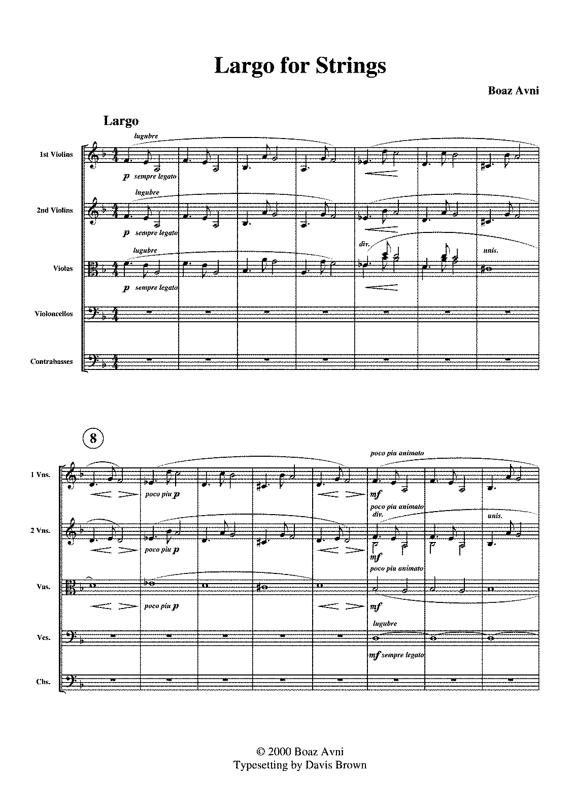PMLP92666-Boaz Avni - Largo for Strings - Score.pdf