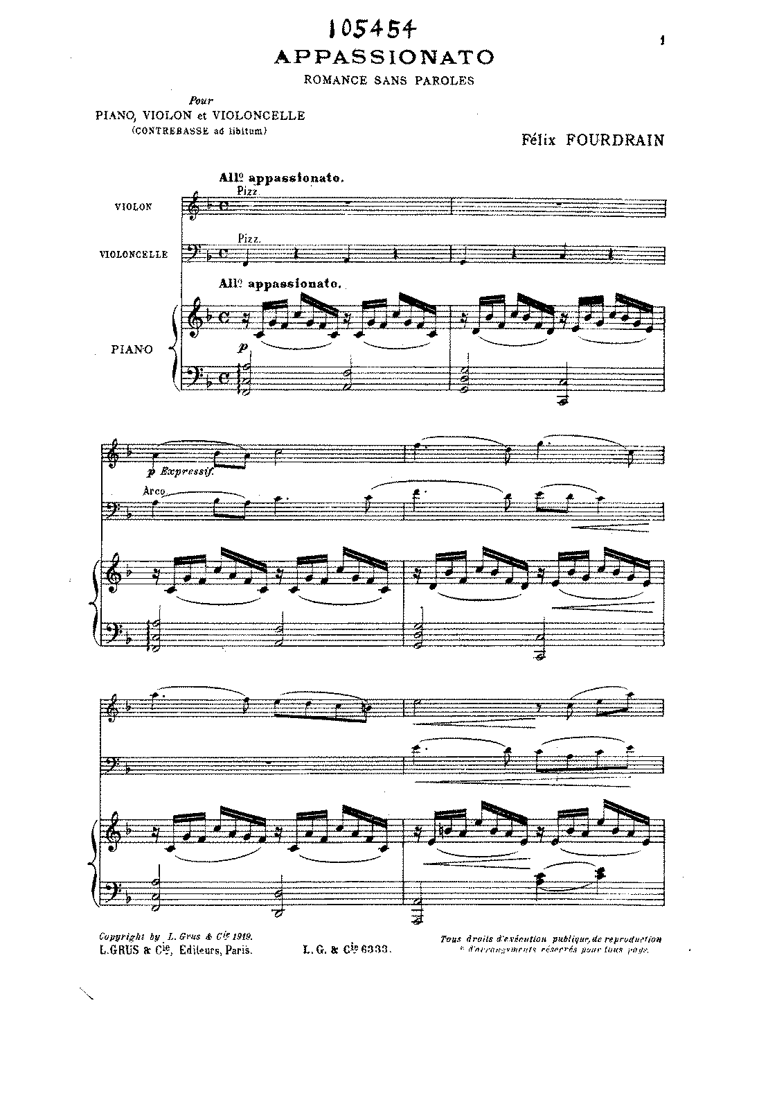PMLP82296-Fourdrain - Appassionato Romance sans paroles PianoTrio piano.pdf
