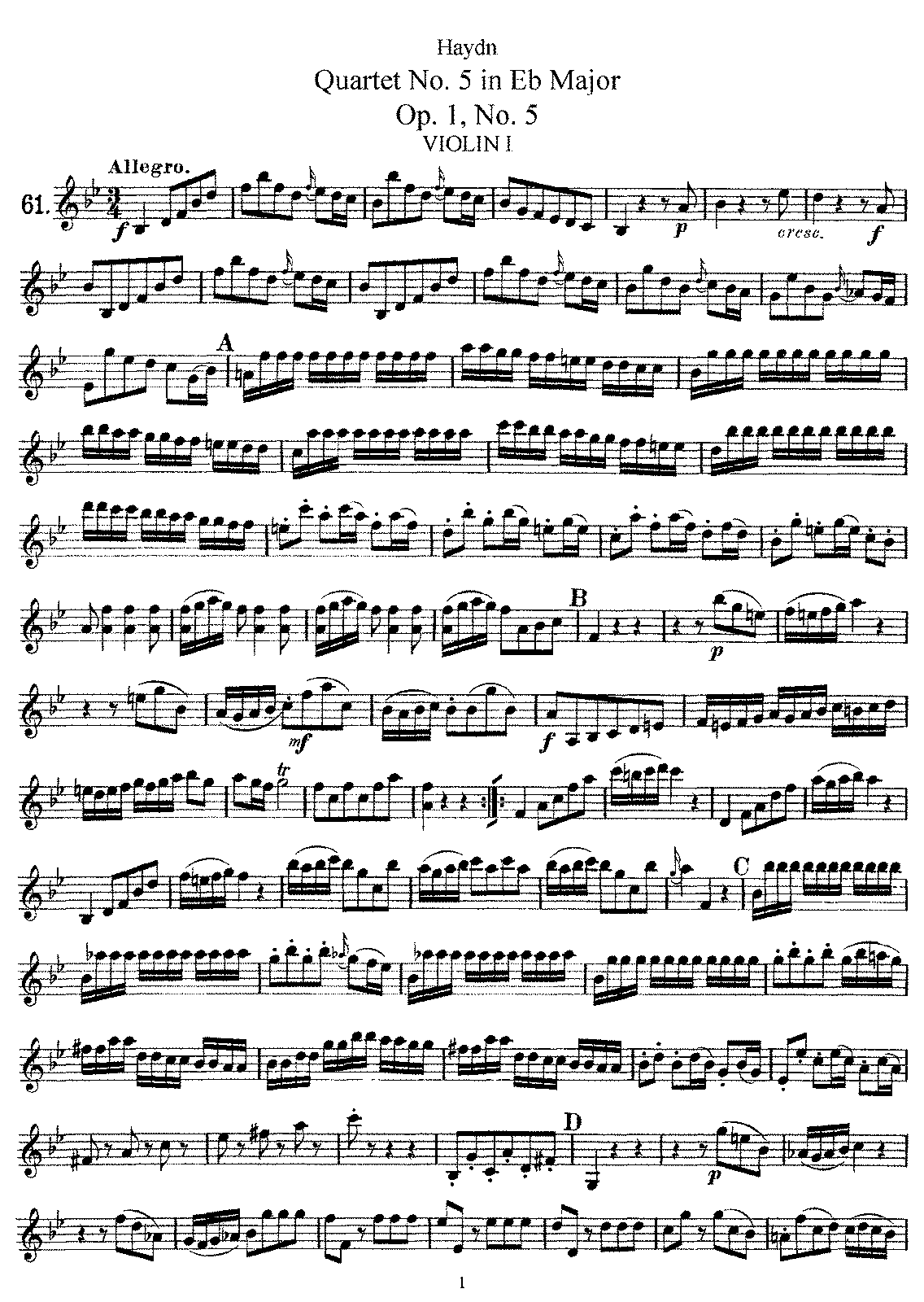 PMLP143602-Haydn - String Quartet No5 Op1 No5 in Bb Major Violin1.pdf