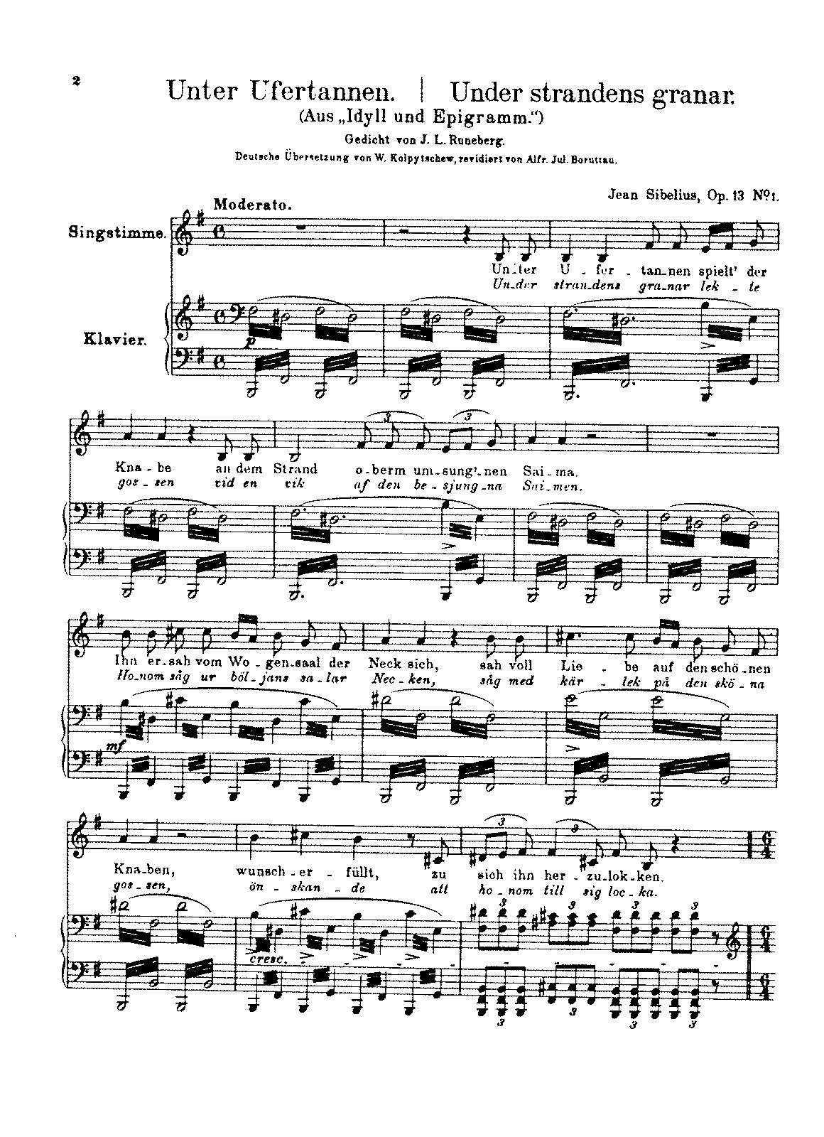 Sibelius - 7 Songs, Op.13 (voice and piano).pdf