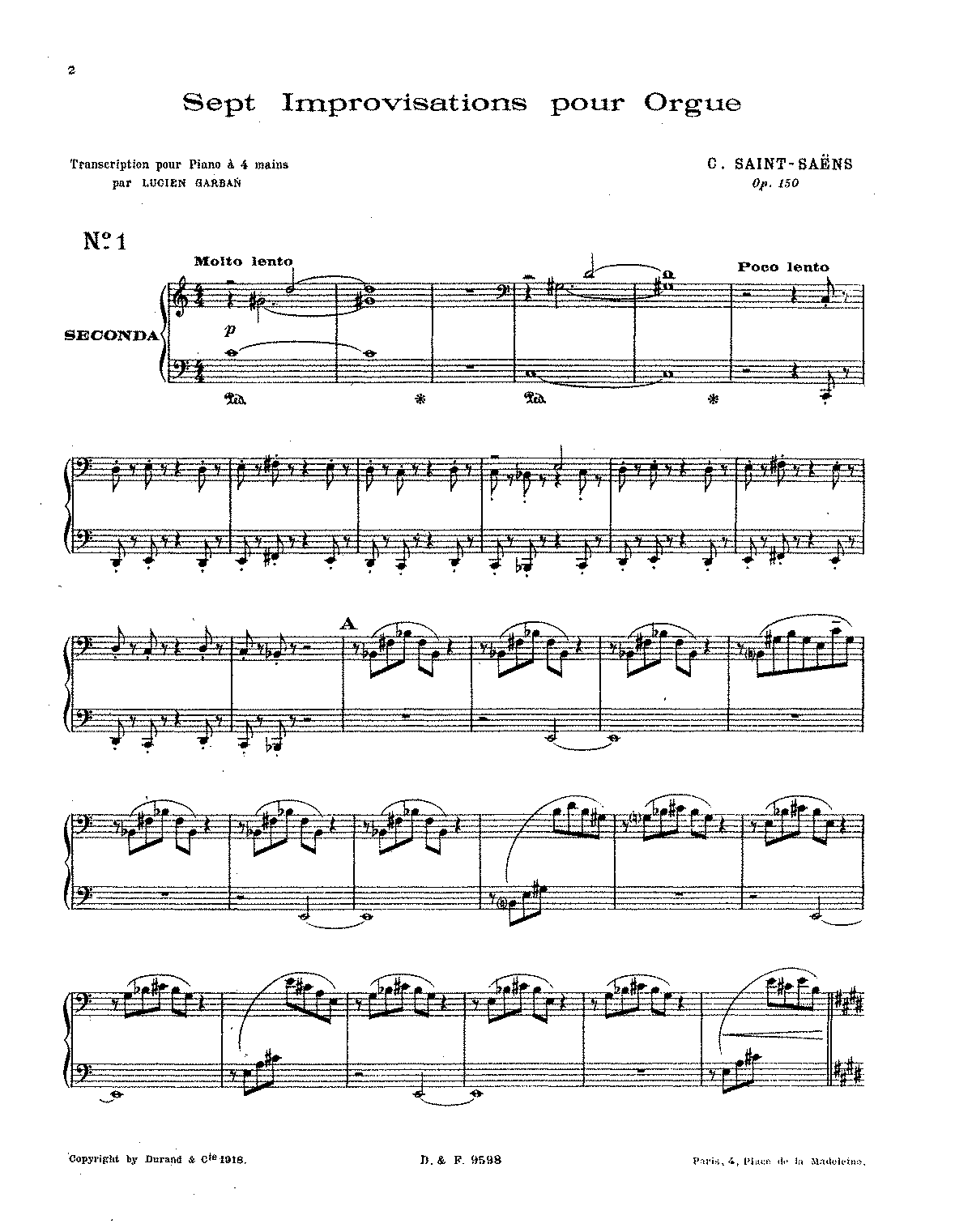 PMLP09635-Saint-Saëns - 7 Improvisations, Op. 150 (trans. Garban - piano 4 hands).pdf