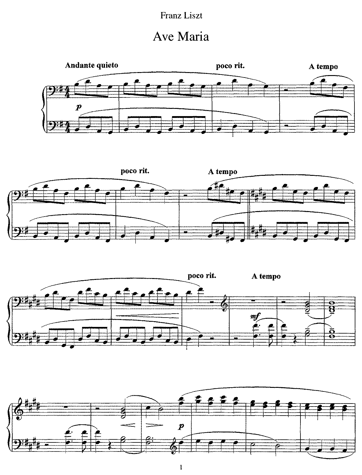 Liszt - S545 Ave Maria in G.pdf