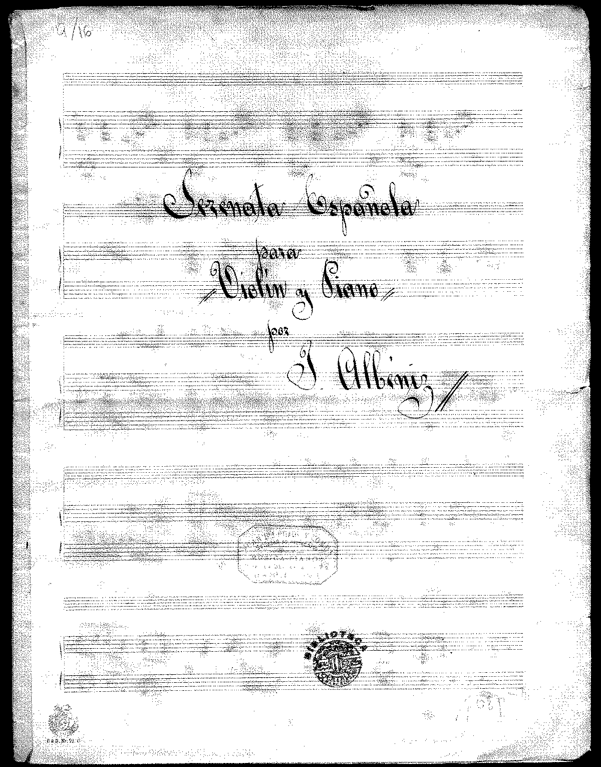 PMLP33993-Albiniz - Serenata Espanola for Violin and Piano manusicript.pdf