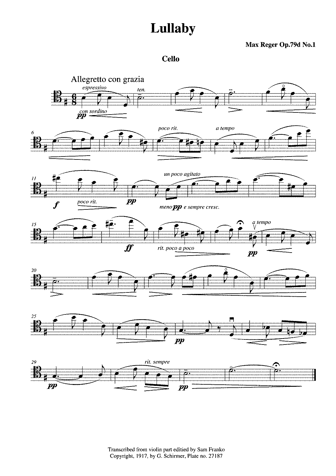 PMLP76395-Reger Lullaby Op79d No1 Cello Part.pdf
