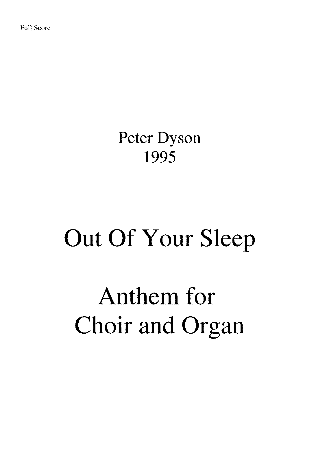 PMLP135174-Peter Dyson 1995 Out Of Your Sleep.pdf