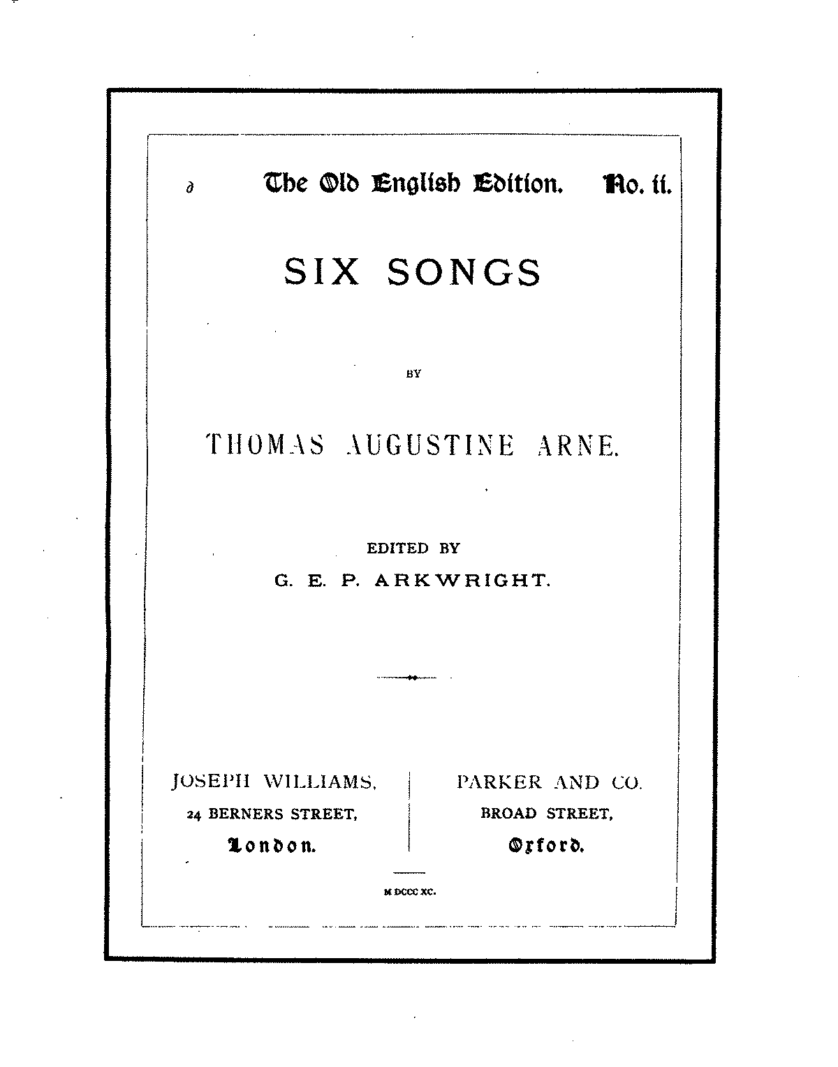 PMLP98161-Arne, Thomas Augustine, 6 Selected Songs.pdf
