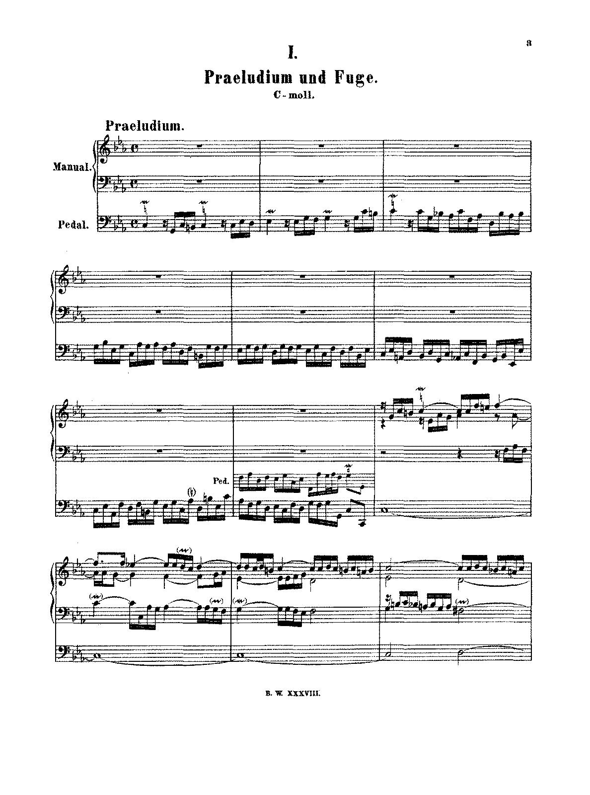 fugue in c-moll bwv 906 sheet pdf