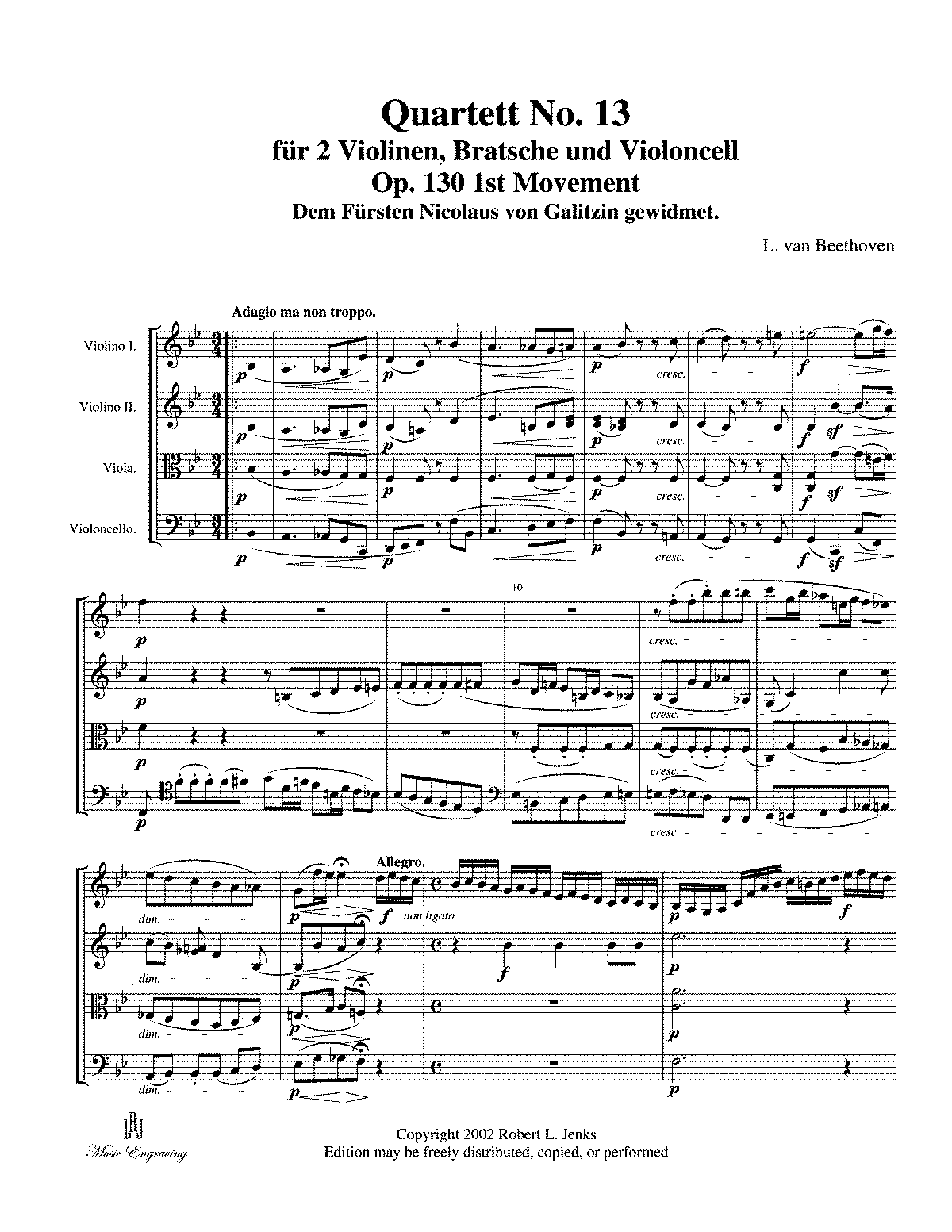 String Quartet No. 13 1st Mvt.pdf