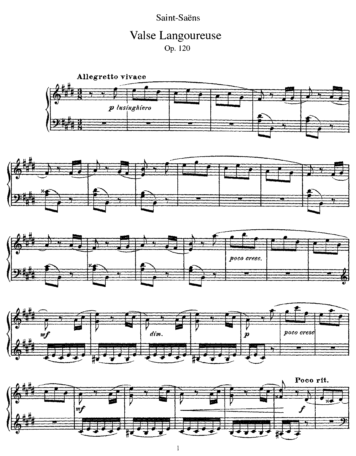 Saint-Saëns - Valse Langoureuse.pdf