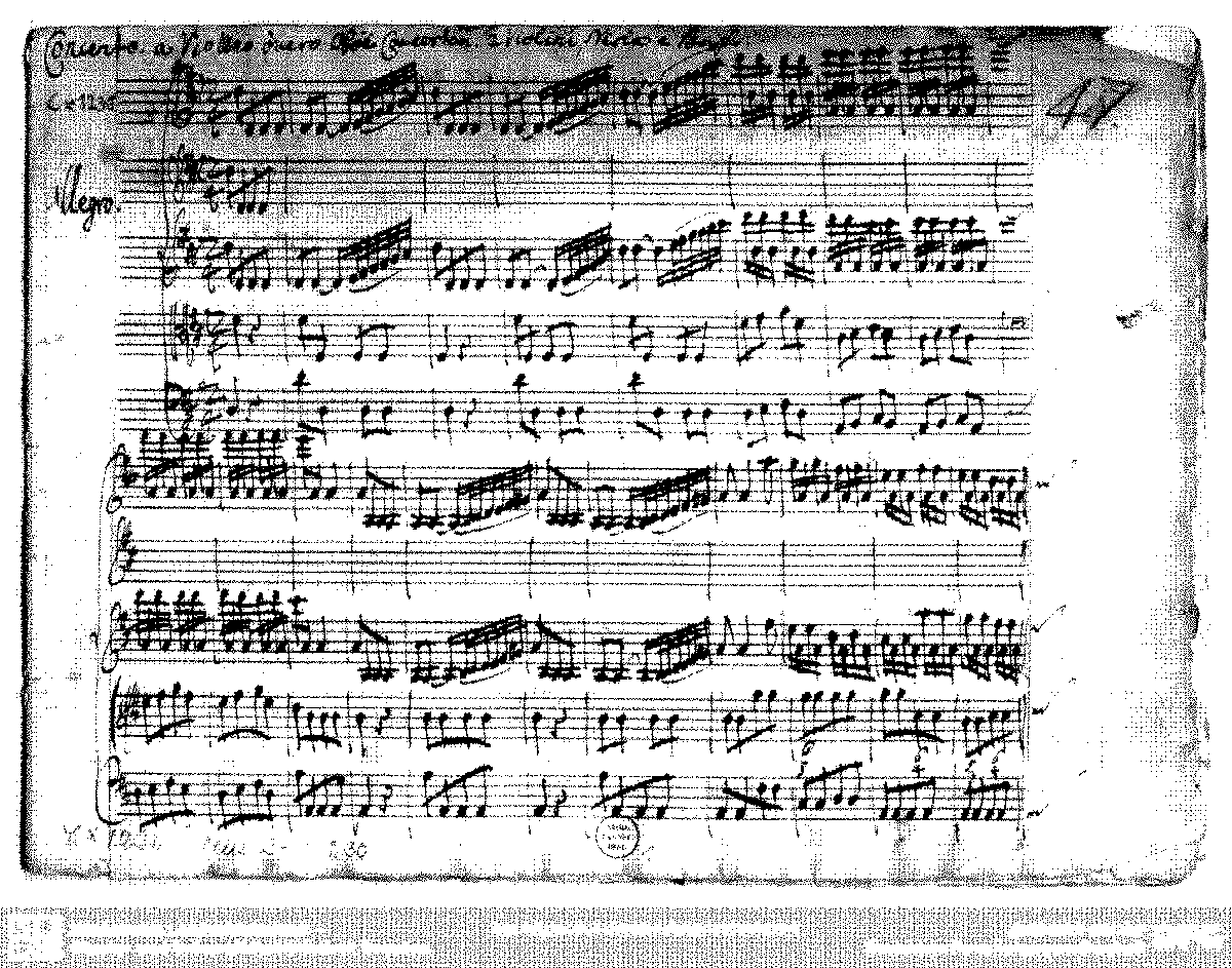 Violin Concerto In D Major Schrank II 33 47 Anonymous