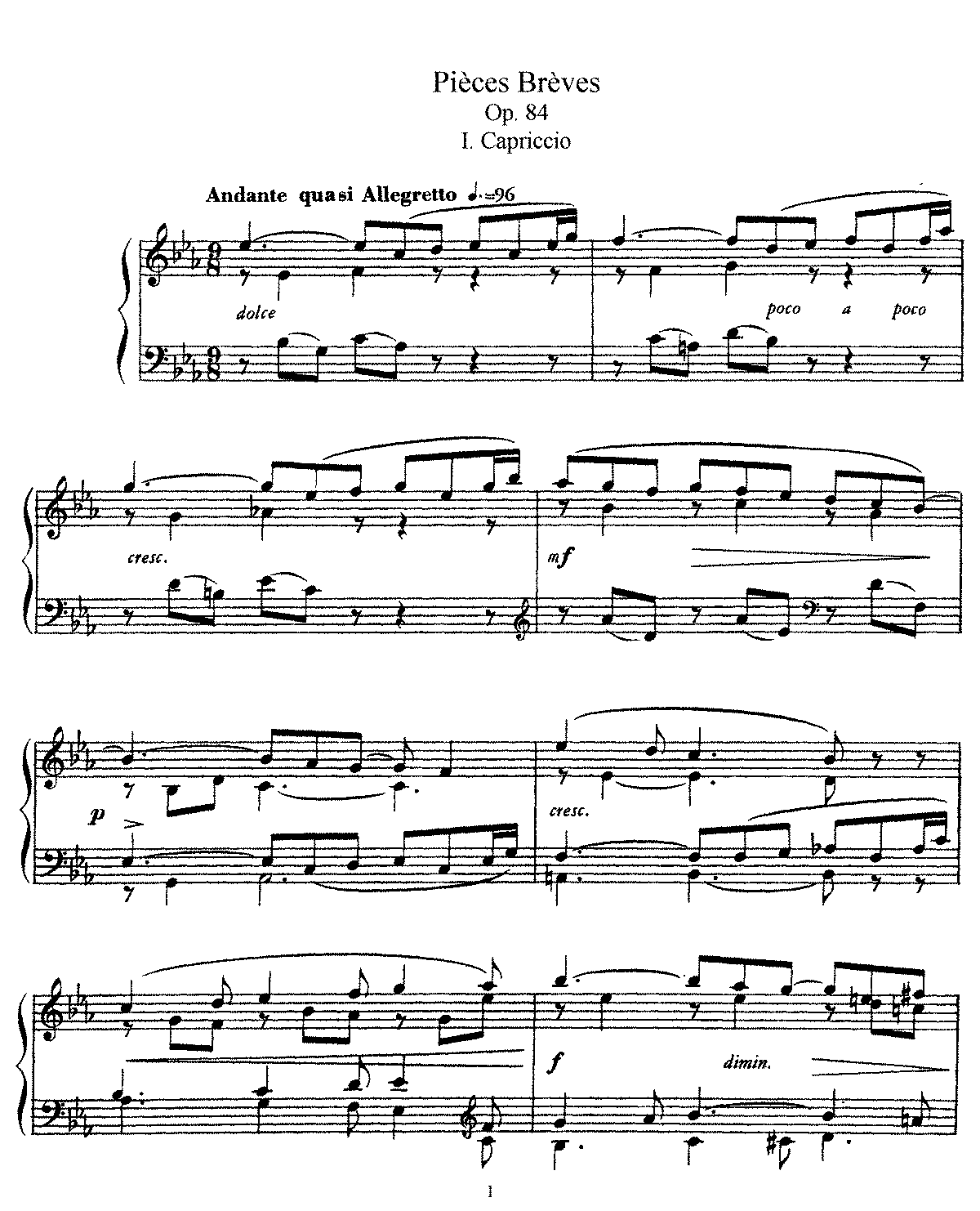 Faure - Piece Breves, Op.84 (piano).pdf