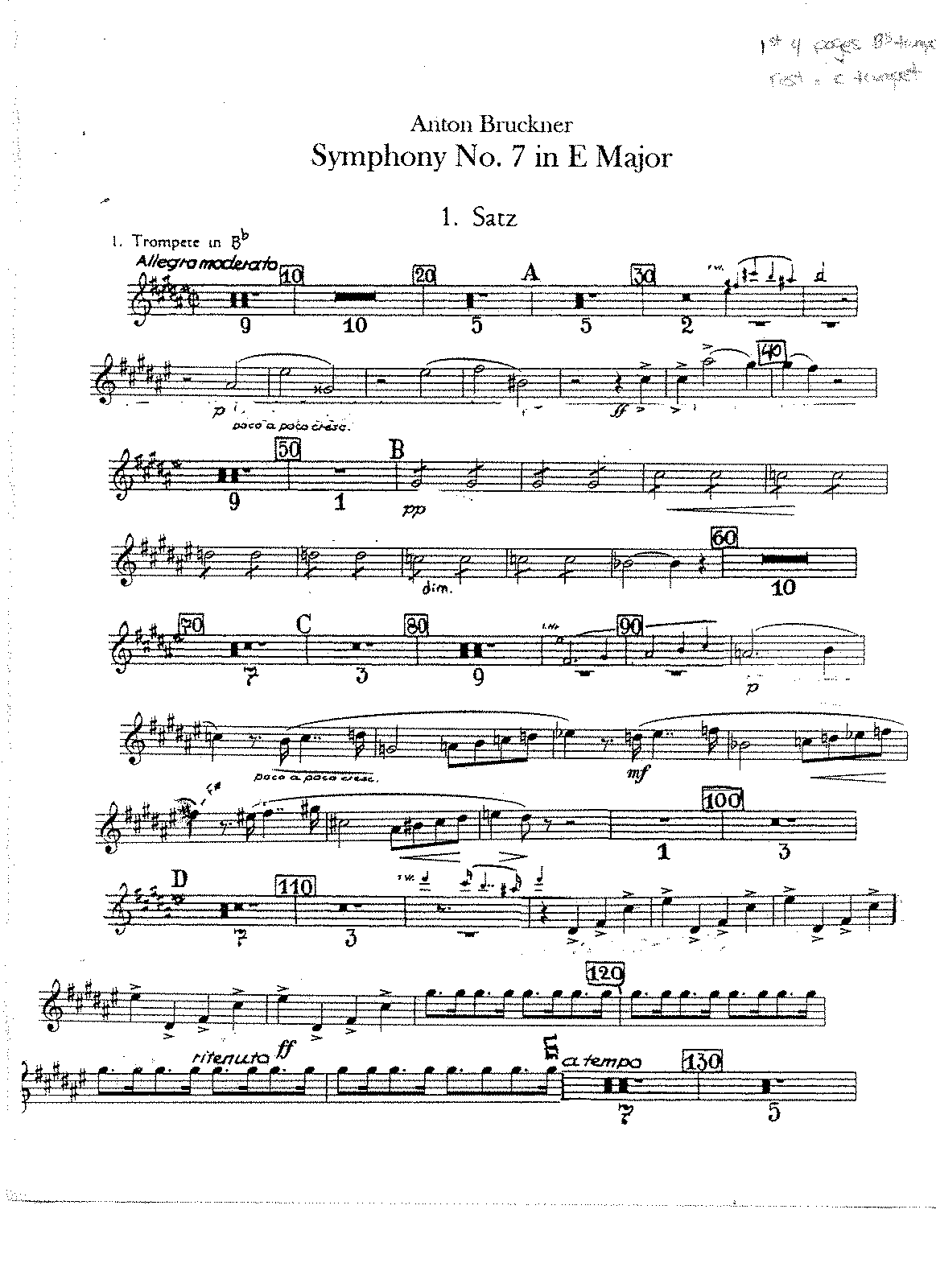 PMLP07929-Bruckner Symphony No. 7 Trumpet 1 (transposed for Bb & C trumpet).pdf