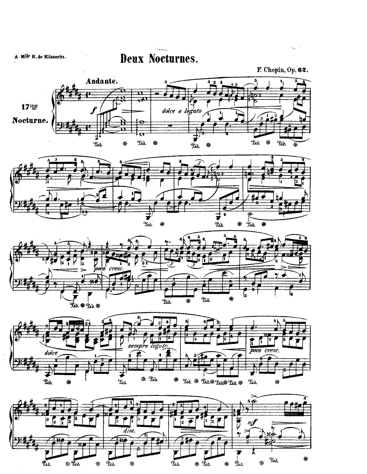 piano chopin nocturne op 9 no 2 pdf