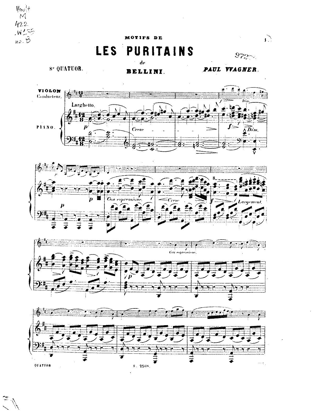 PMLP276161-Wagner, Paul - Quartet No8 Puritani PS Sibley.1802.16410.pdf