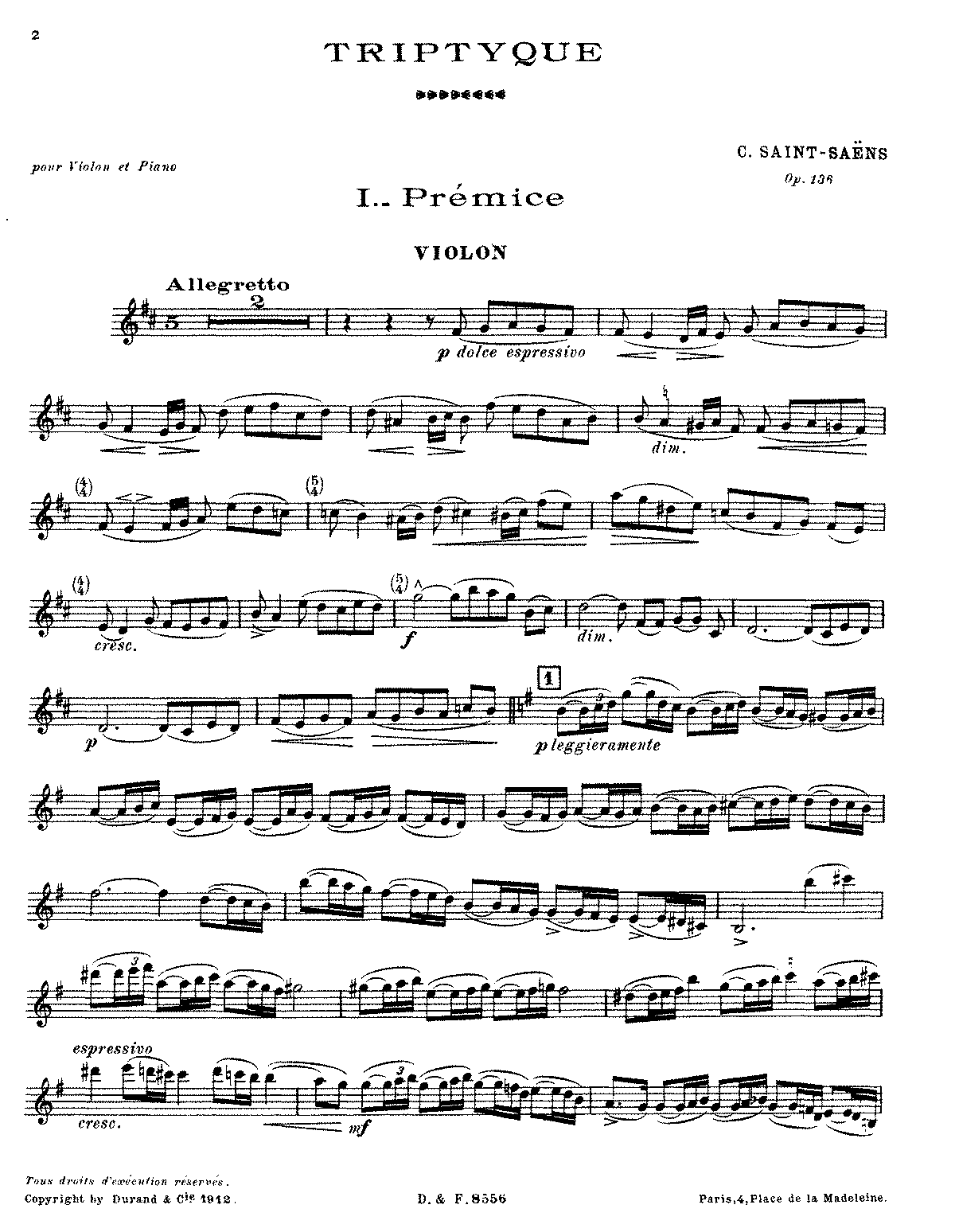 PMLP69046-Saint-Saëns - Triptyque, Op. 136 (violin and piano).pdf