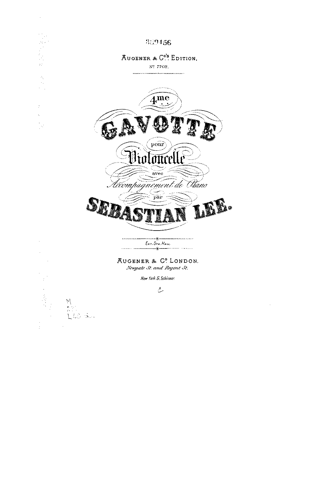 PMLP136641-Lee - Gavotte No4 for Cello and Piano Op117 score.pdf