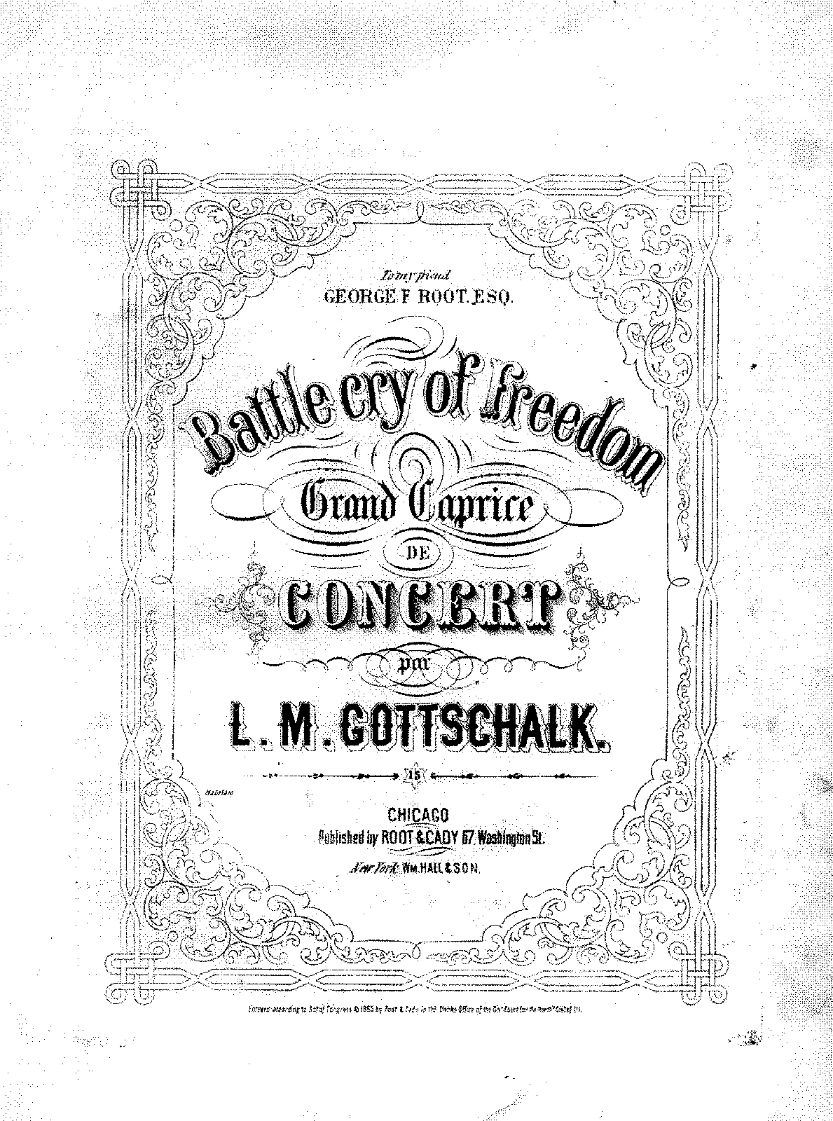 Gottschalk - Op.55 - Battle Cry of Freedom.pdf
