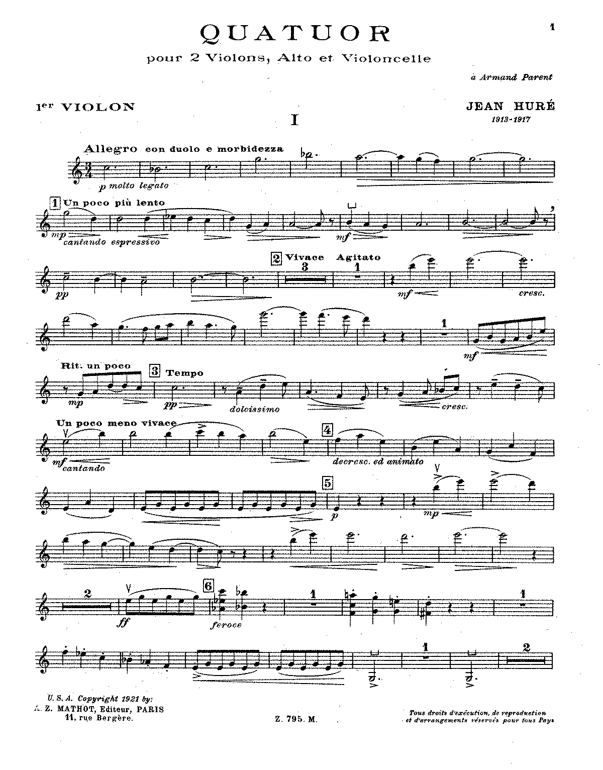 PMLP121188-Huré - String Quartet No. 1 (parts).pdf