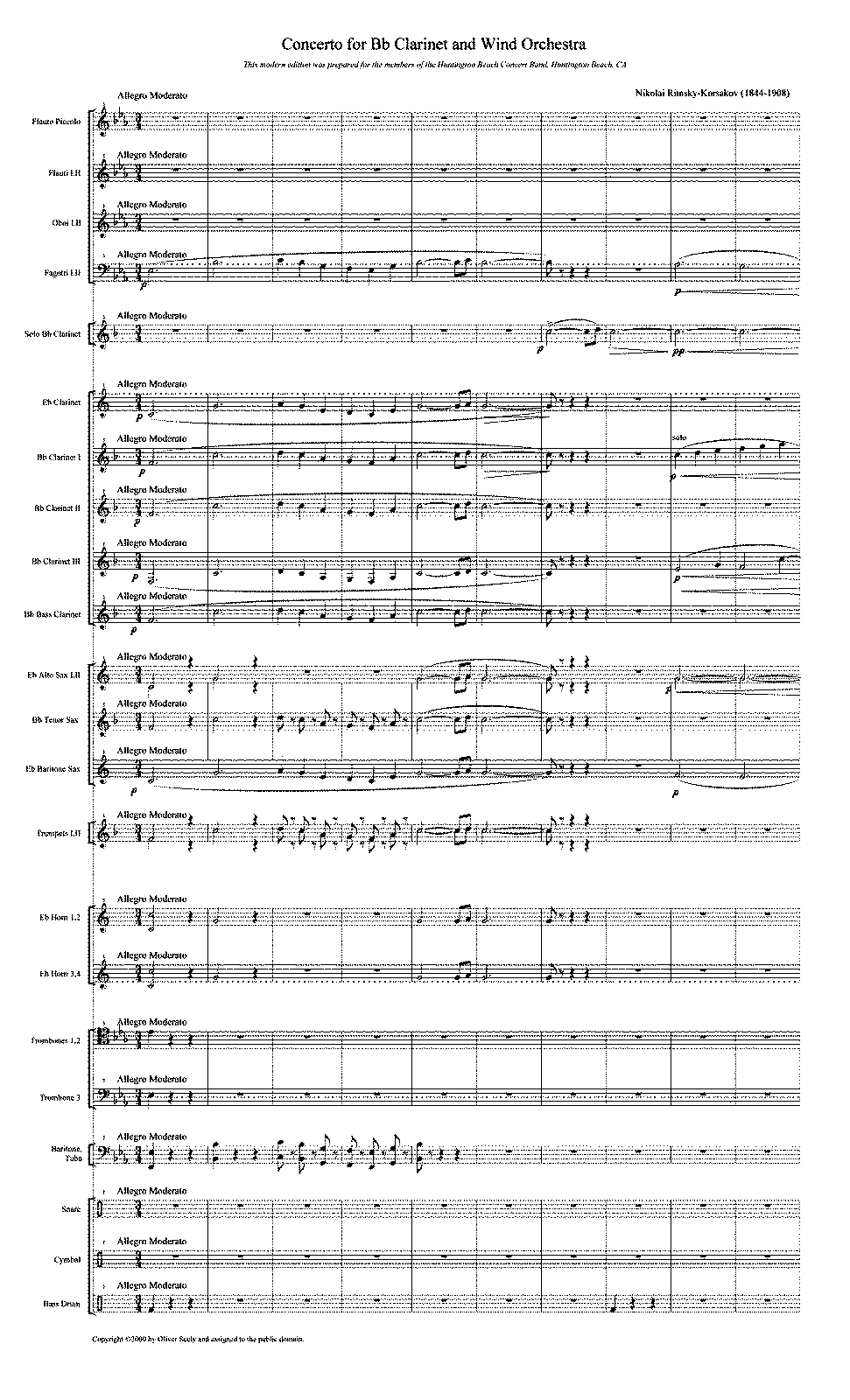 PMLP62570-Concert Band - Rimsky Korsakov - Concerto for Bb Clarinet and band full score.pdf