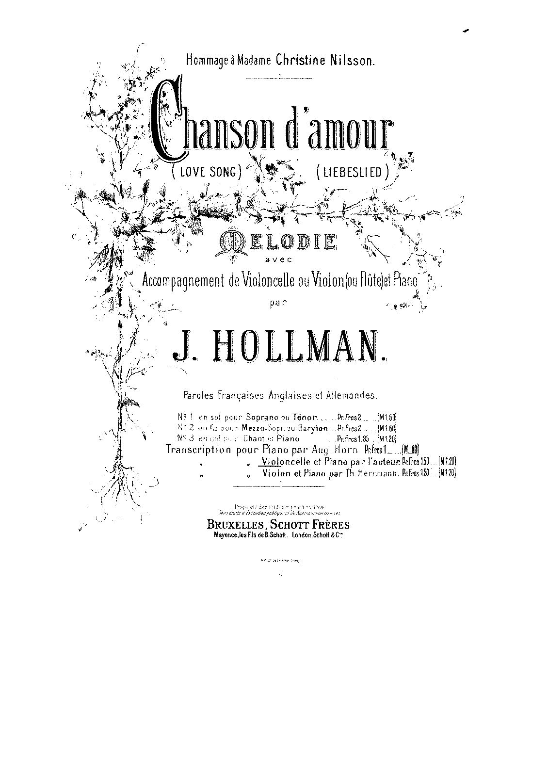 PMLP305608-Hollman - Chanson d'amour (Love song - Liebeslied) for cello and piano pno.pdf
