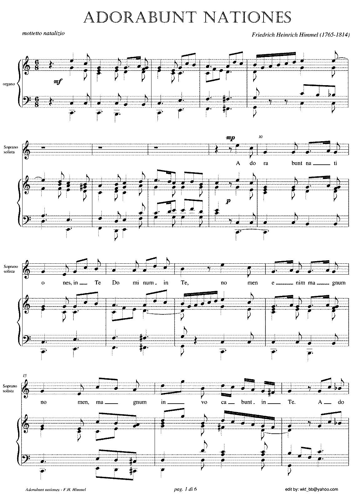 Christnacht himmel friedrich heinrich imslppetrucci music arrangements and transcriptions hexwebz Images
