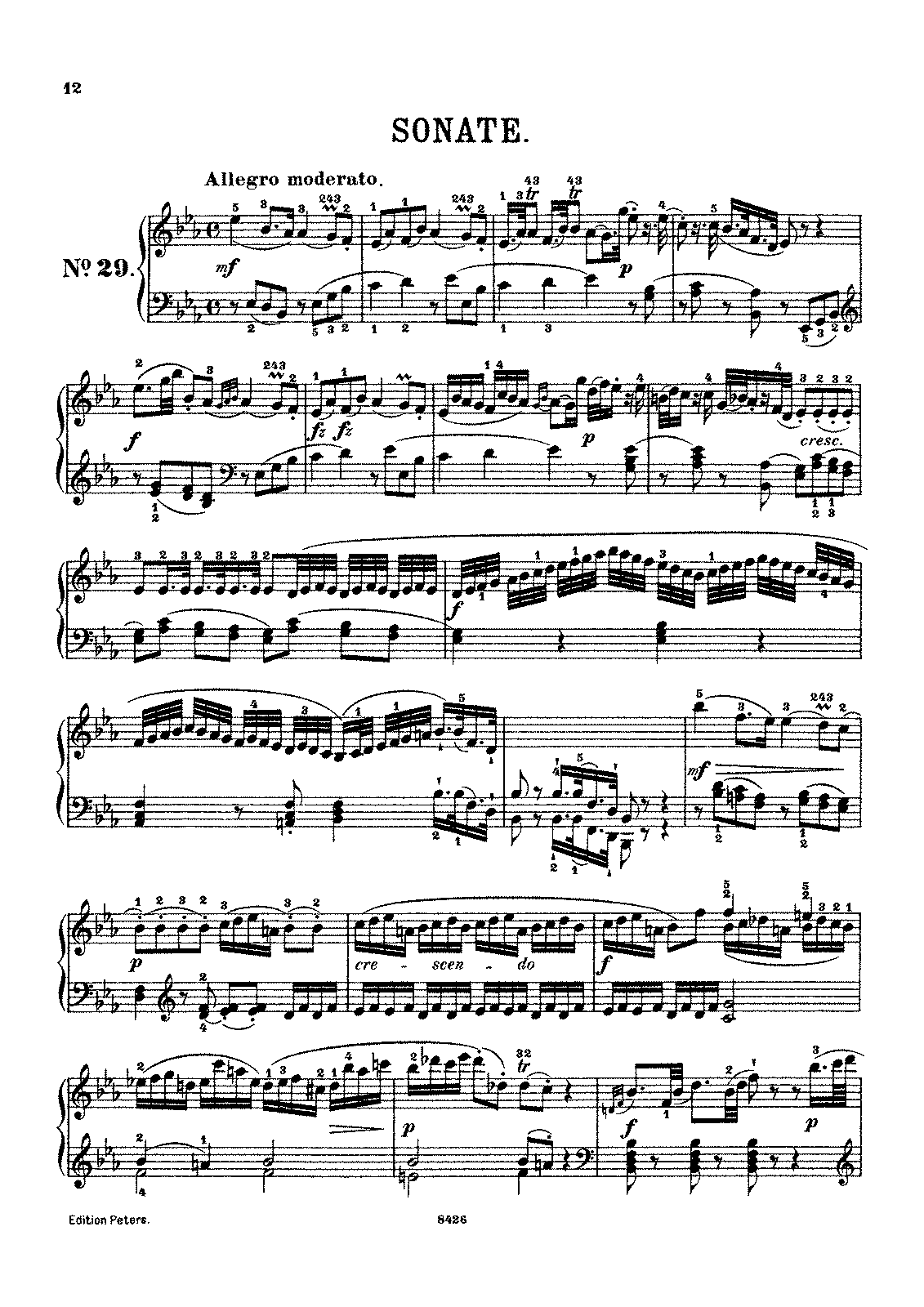 haydn piano sonata in b flat major analysis To examine the relationship beethoven had with the piano sonata, we begin by looking at its origins  it begins in b-flat major,  you can begin with a haydn c .