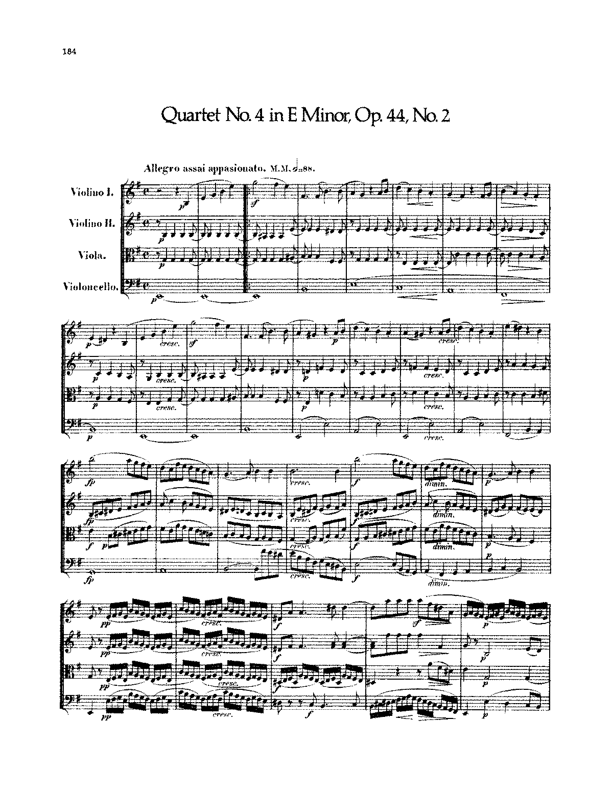 Mendelssohn - String Quartet No. 4.pdf