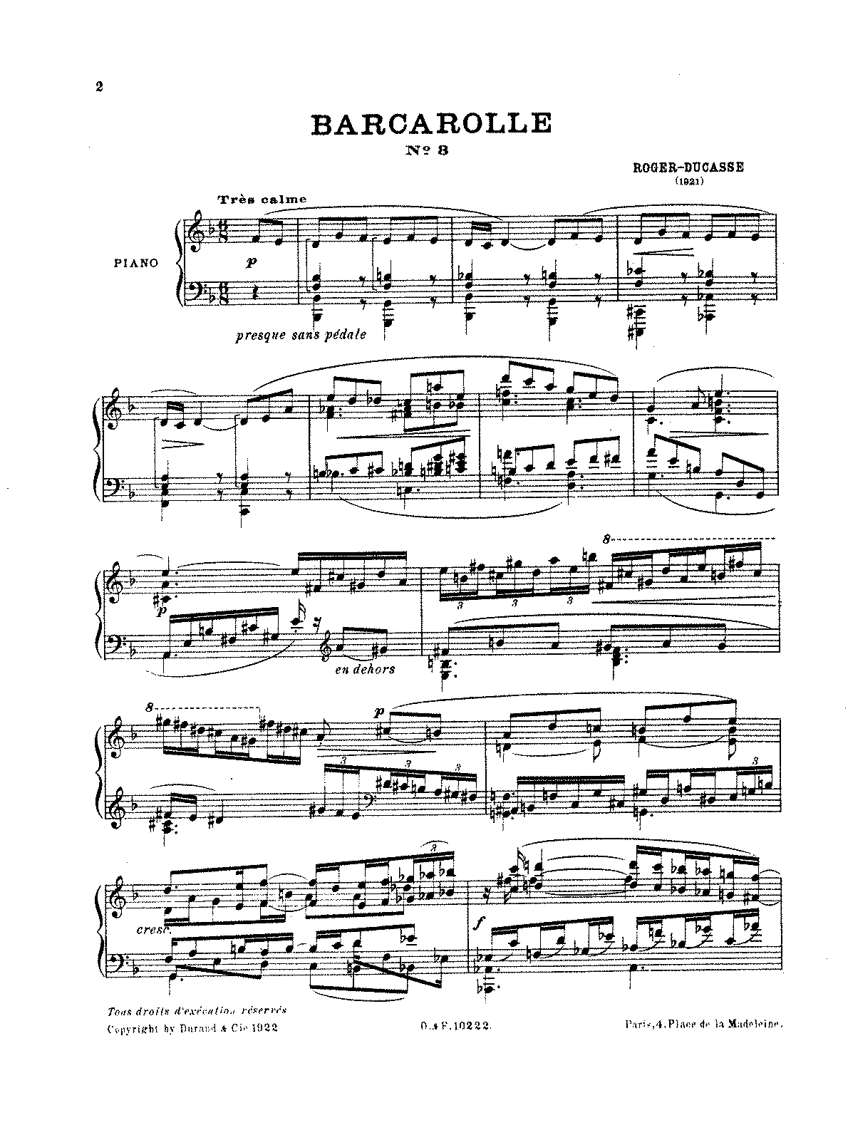 Roger-Ducasse - Barcarolle No. 3 (piano).pdf
