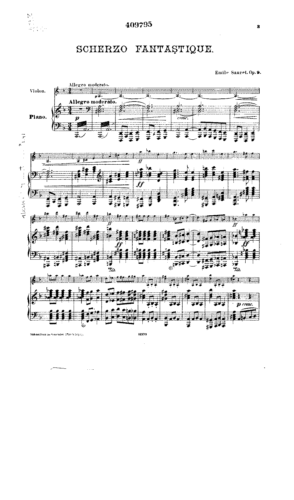 Sauret - Scherzo Fantastique Op.9 for Violin & Piano.pdf
