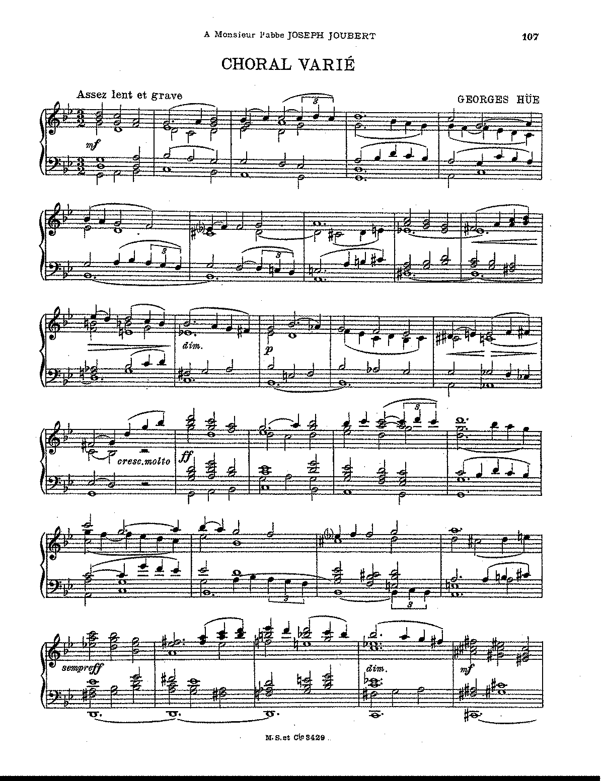 Hue - Choral Varié (for organ).pdf