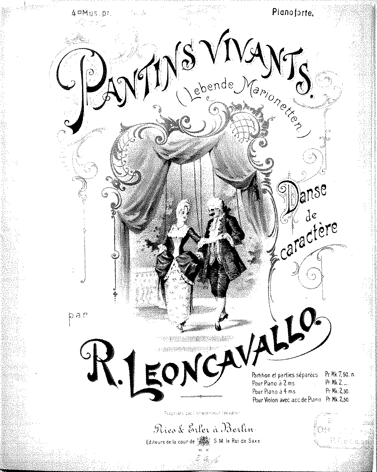 PMLP423532-Leoncavallo Pantins vivants, pno and vn score.pdf