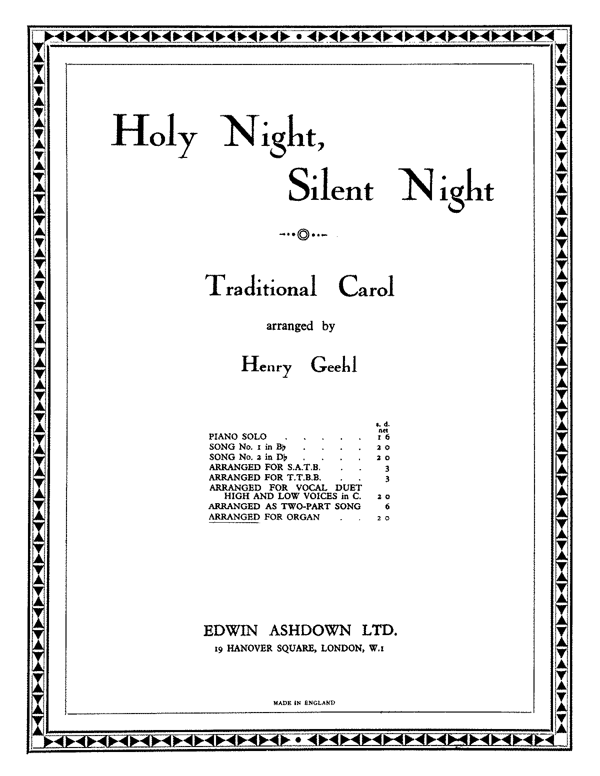 PMLP100250-Geehl Holy Night, Silent Night (organ).pdf