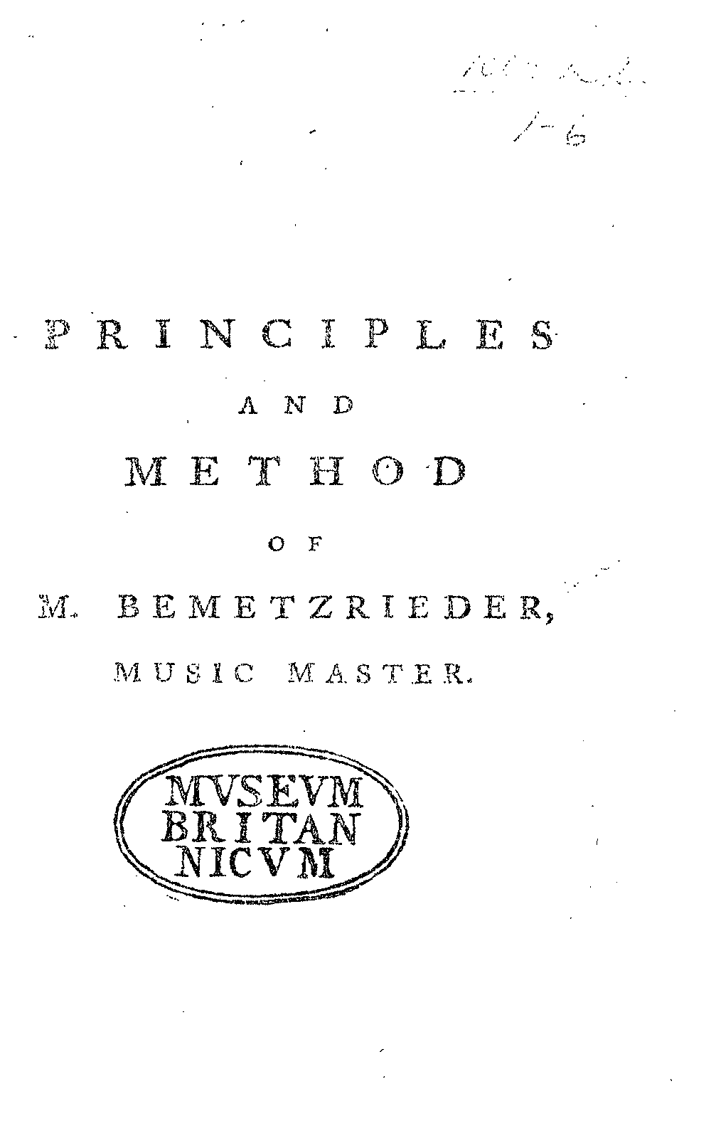 PMLP139962-bemetzrieder Principles and method of music 1782.pdf
