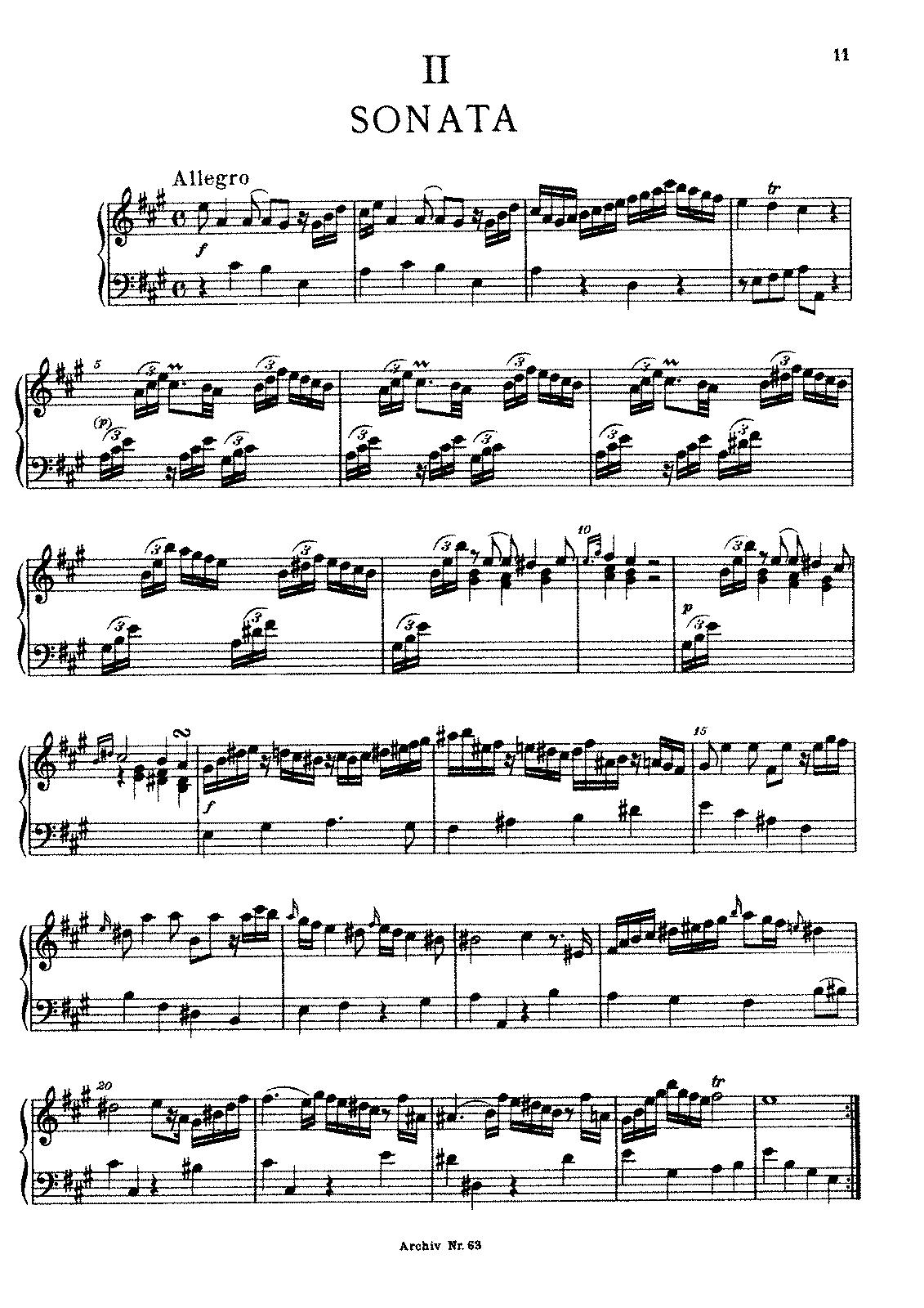 Keyboard sonata in a major f8 bach wilhelm friedemann imslp javascript hexwebz Gallery
