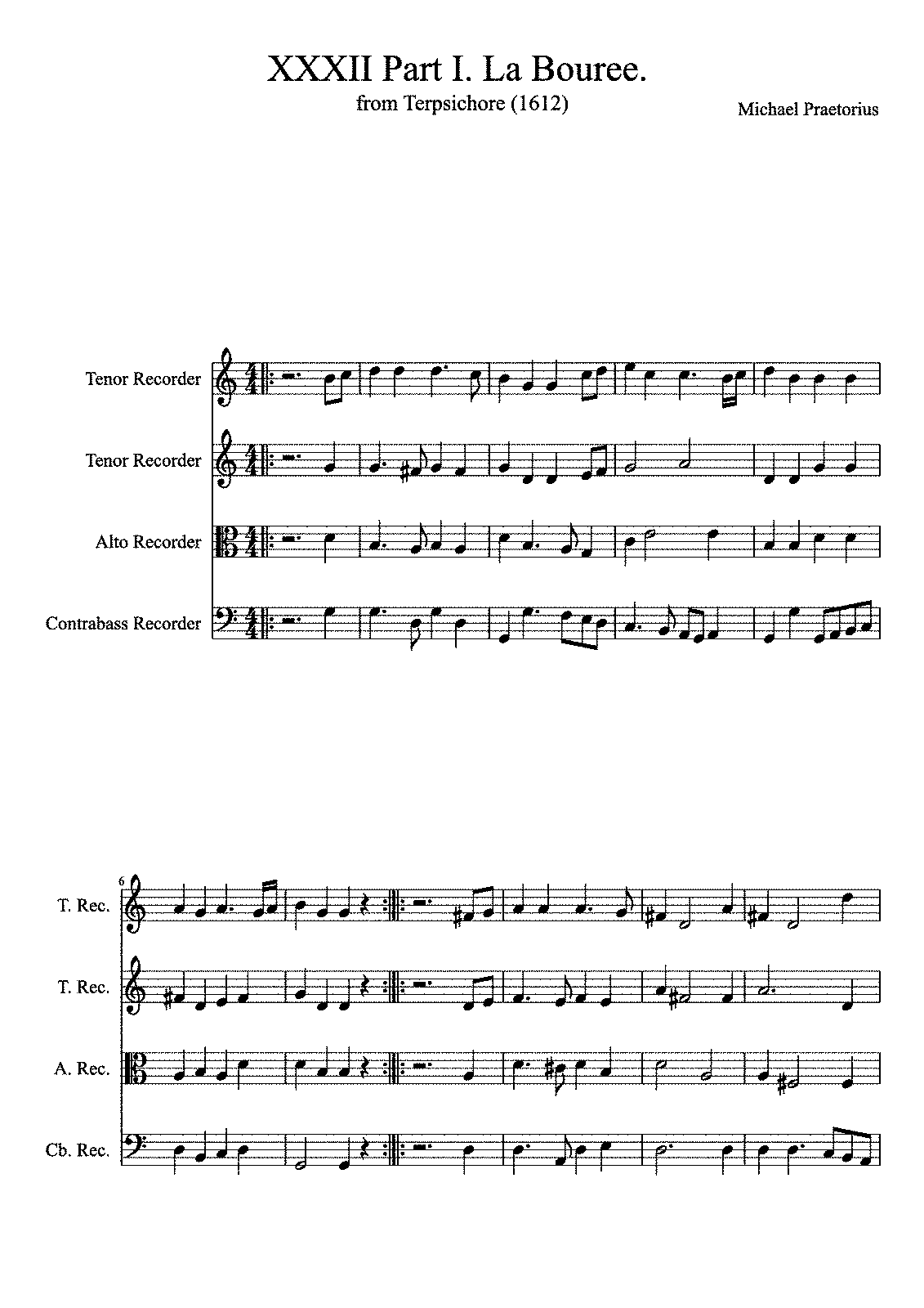 PMLP585050-XXXII Part I La Bouree from Terpsichore Michael Praetorius 1612.pdf