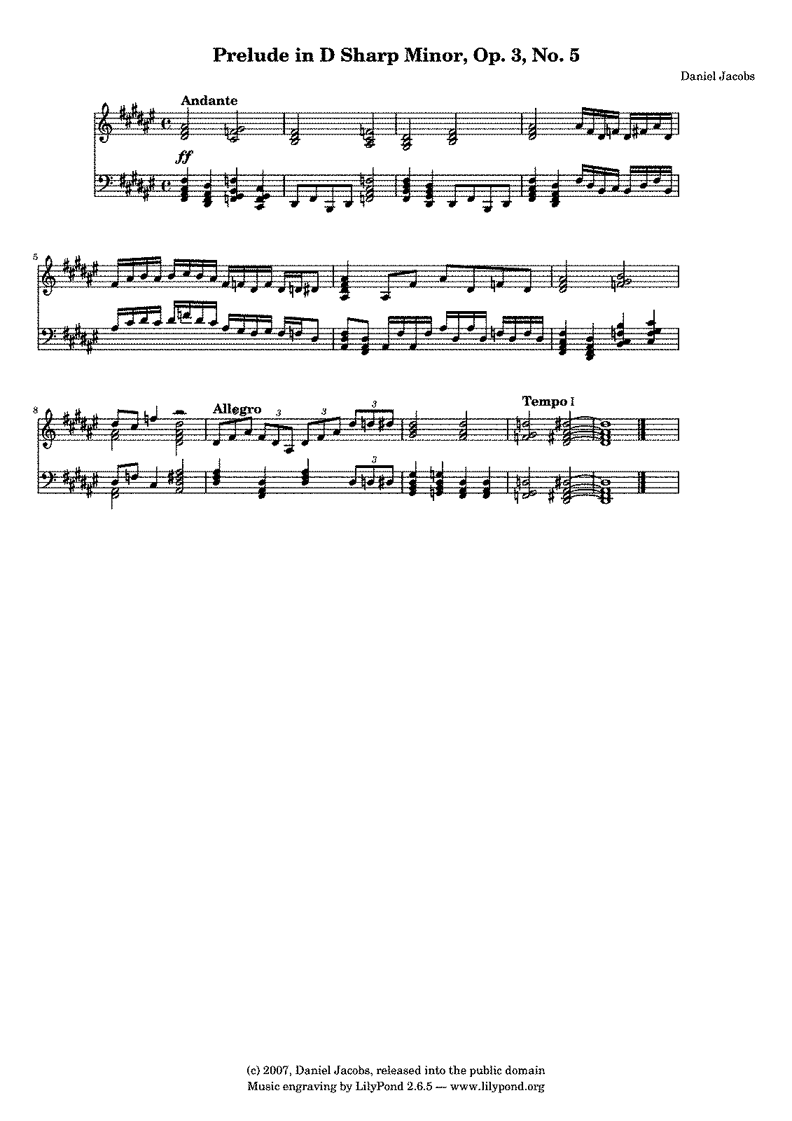 Prelude in D Sharp Minor.pdf