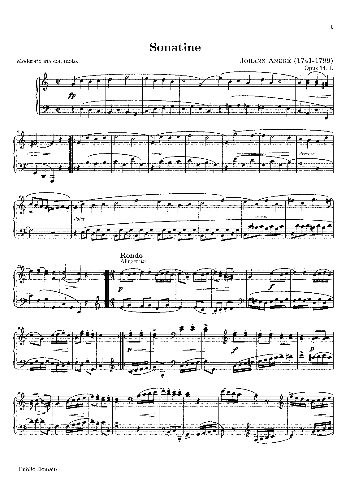 Andre - Sonatine for Piano, Op.34 No.1.pdf