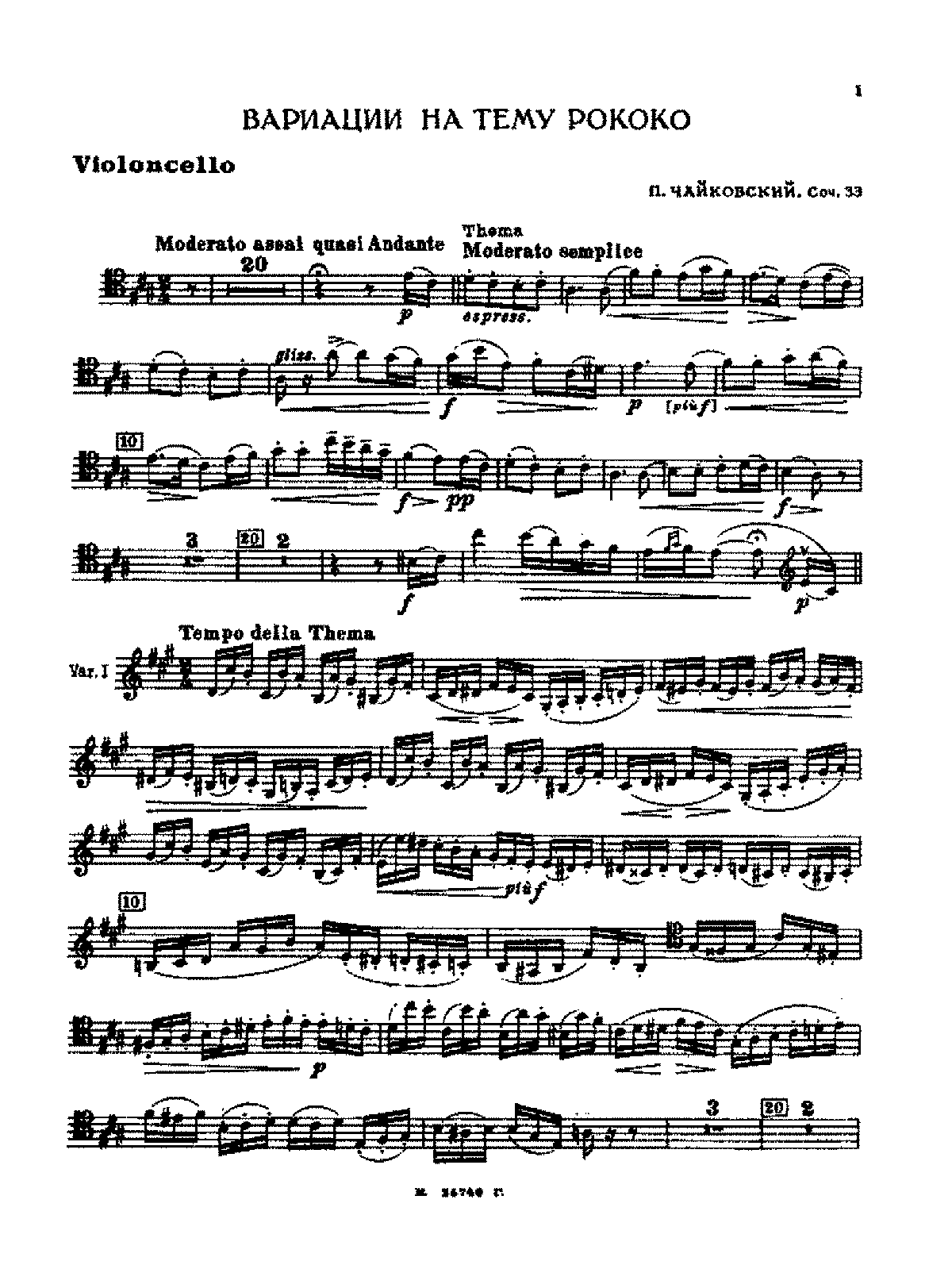 PMLP04622-Tchaikovsky - Variations on a Rococo Theme Op.33 (original version) cello part.pdf