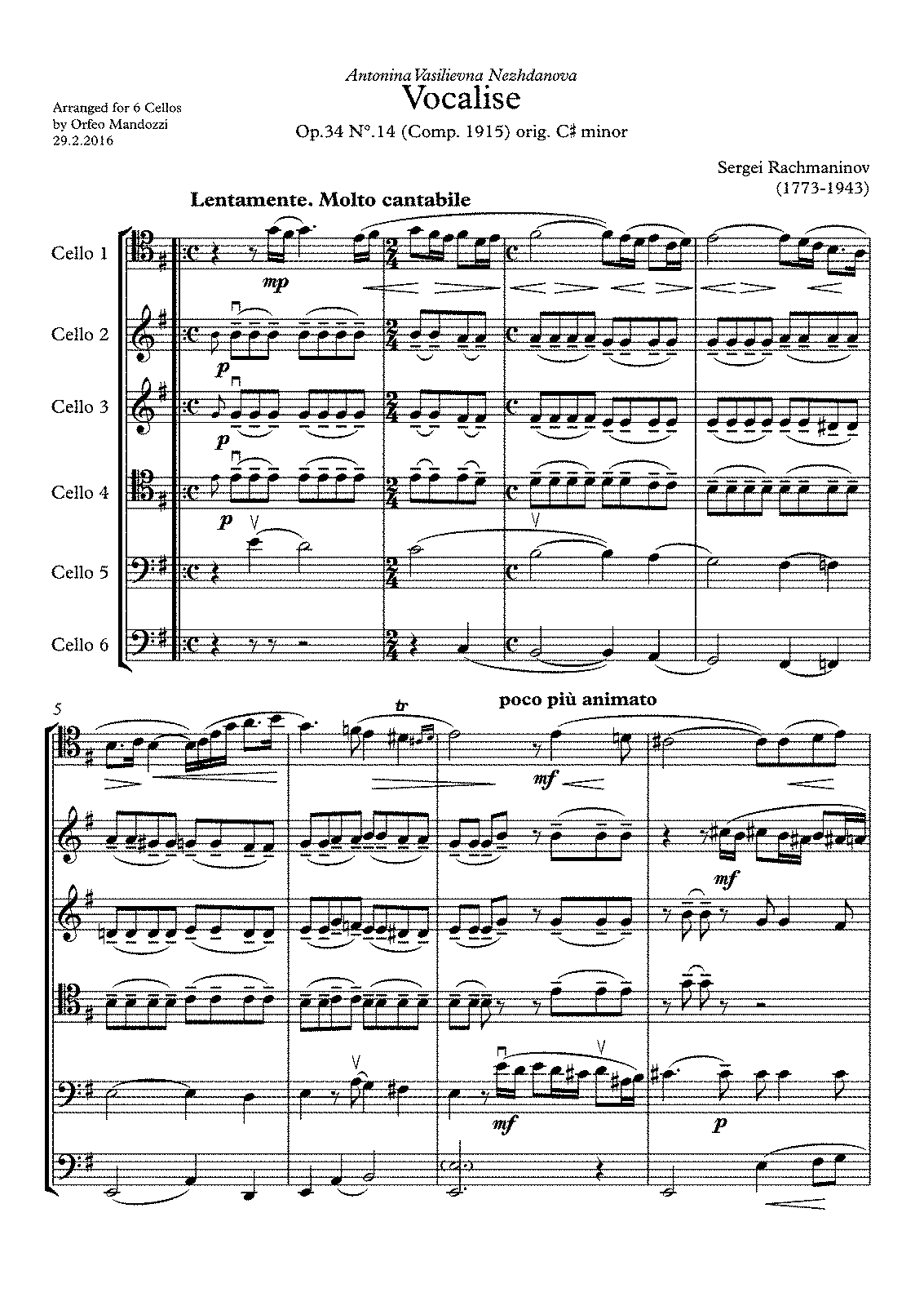 PMLP17852-Rachmaninov Vocalise Mandozzi 6 Celli - Partitur.pdf