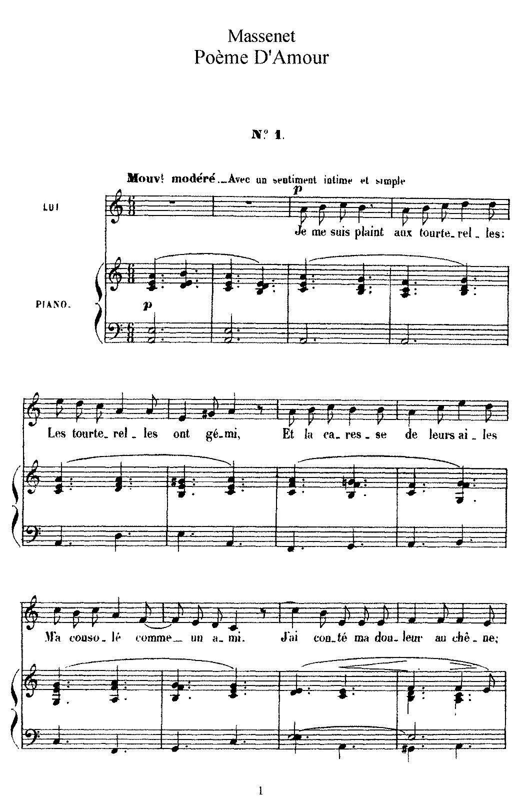Massenet - Poëme d'amour (voice and piano).pdf