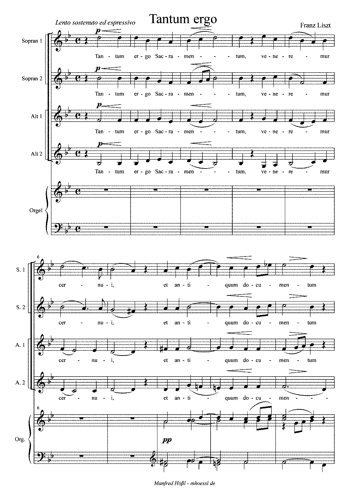 Liszt - S42ii Tantum ergo 2nd version (typeset).pdf