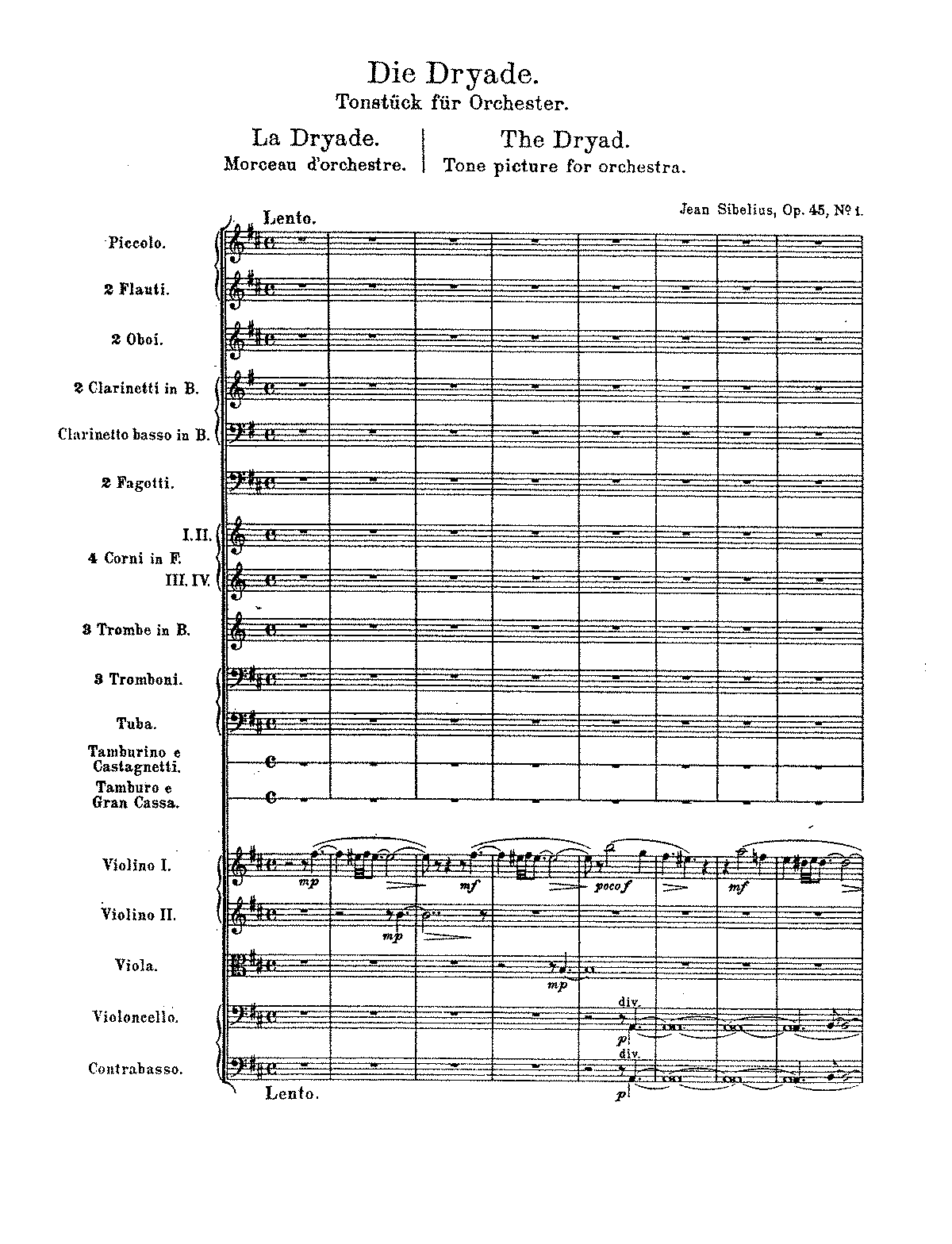 Sibelius - The Dryad, Op.45 No.1 (orch. score).pdf