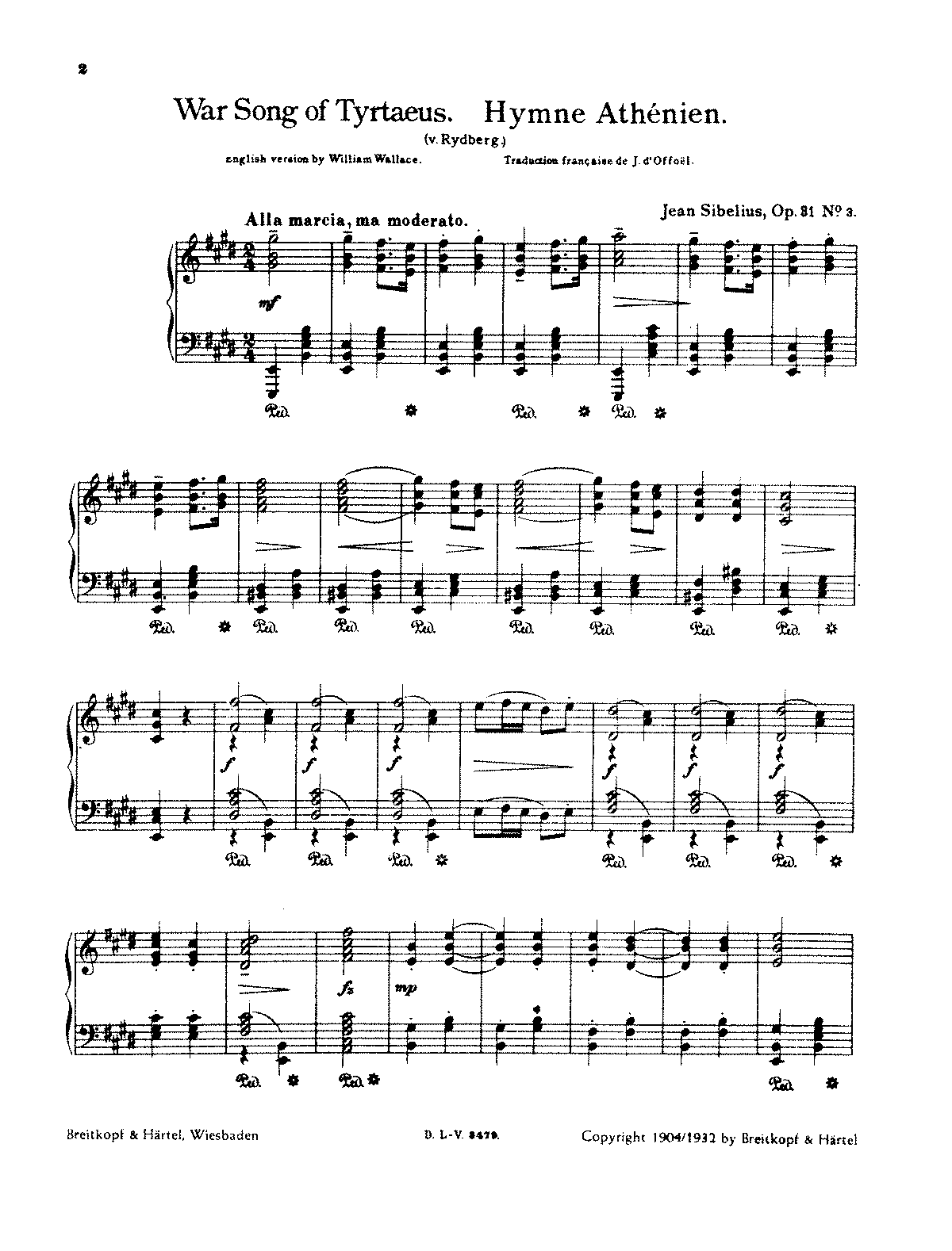 Sibelius - Song of the Athenians, Op.31 No.3 (voice and piano).pdf