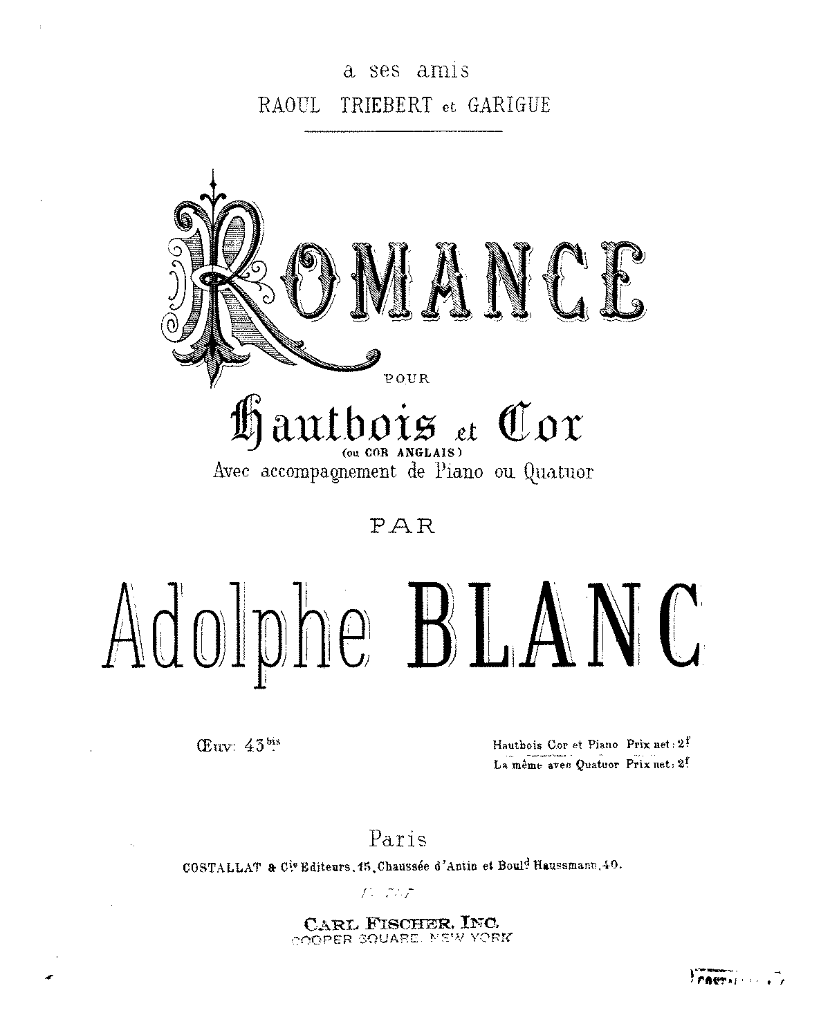 Blanc, Adolphe-Romance for Oboe and Horn with Piano (score).pdf