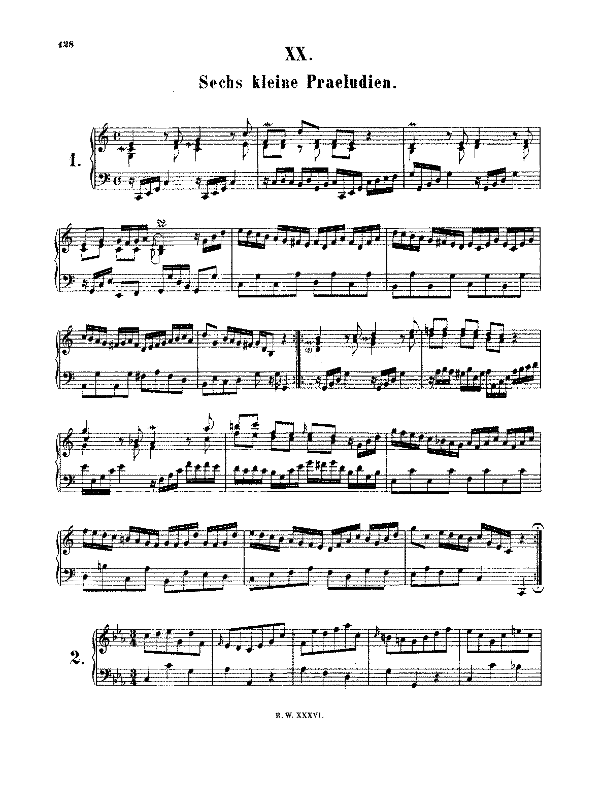 an analytical discussion on bach's prelude J s bach's well-tempered clavier: in-depth analysis and interpretation, volume  i [siglind bruhn] on  volume i deals with the preludes and fugues wtc i, nos.