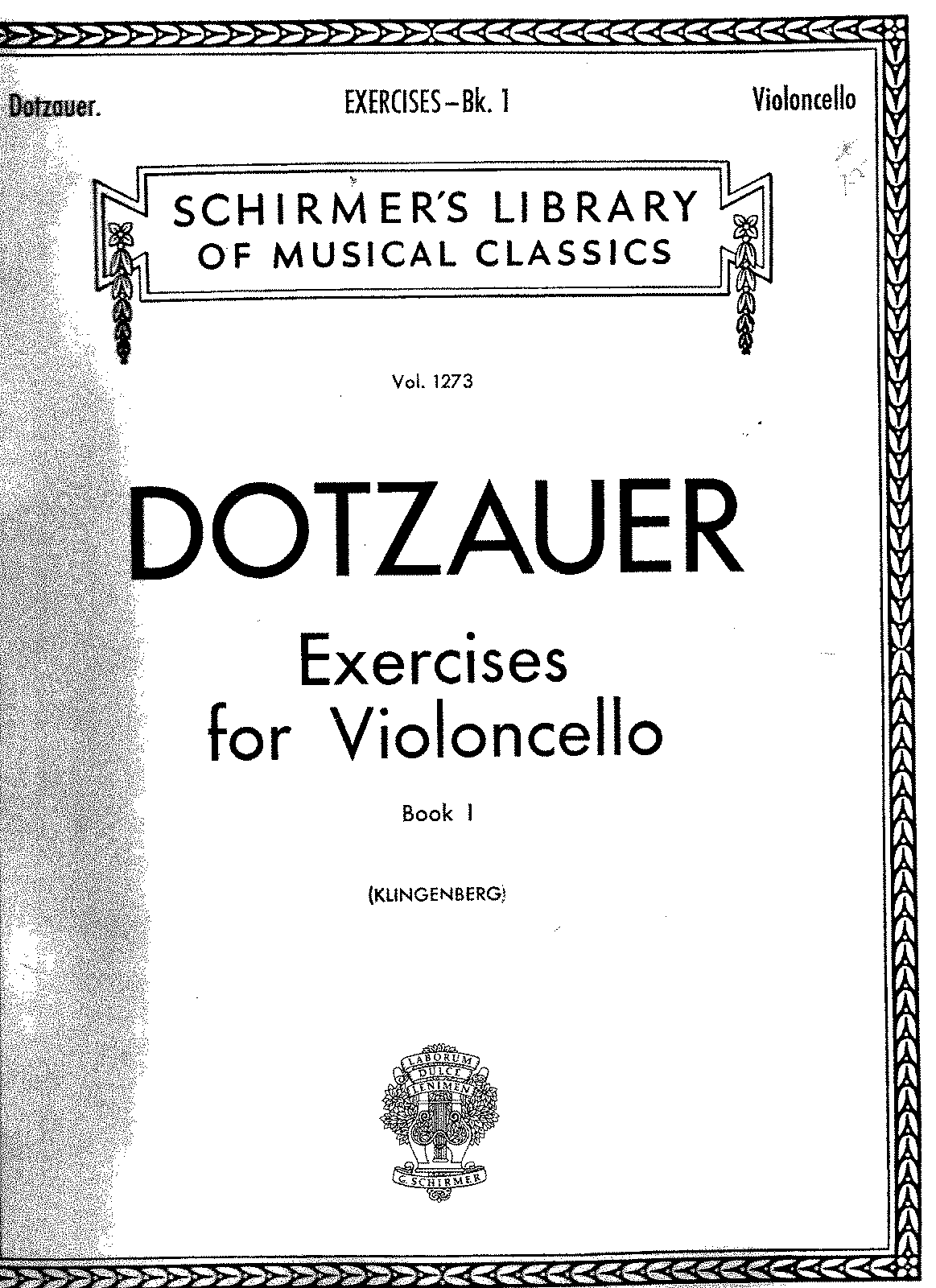 Dotzauer - exercises for violoncello book I.pdf