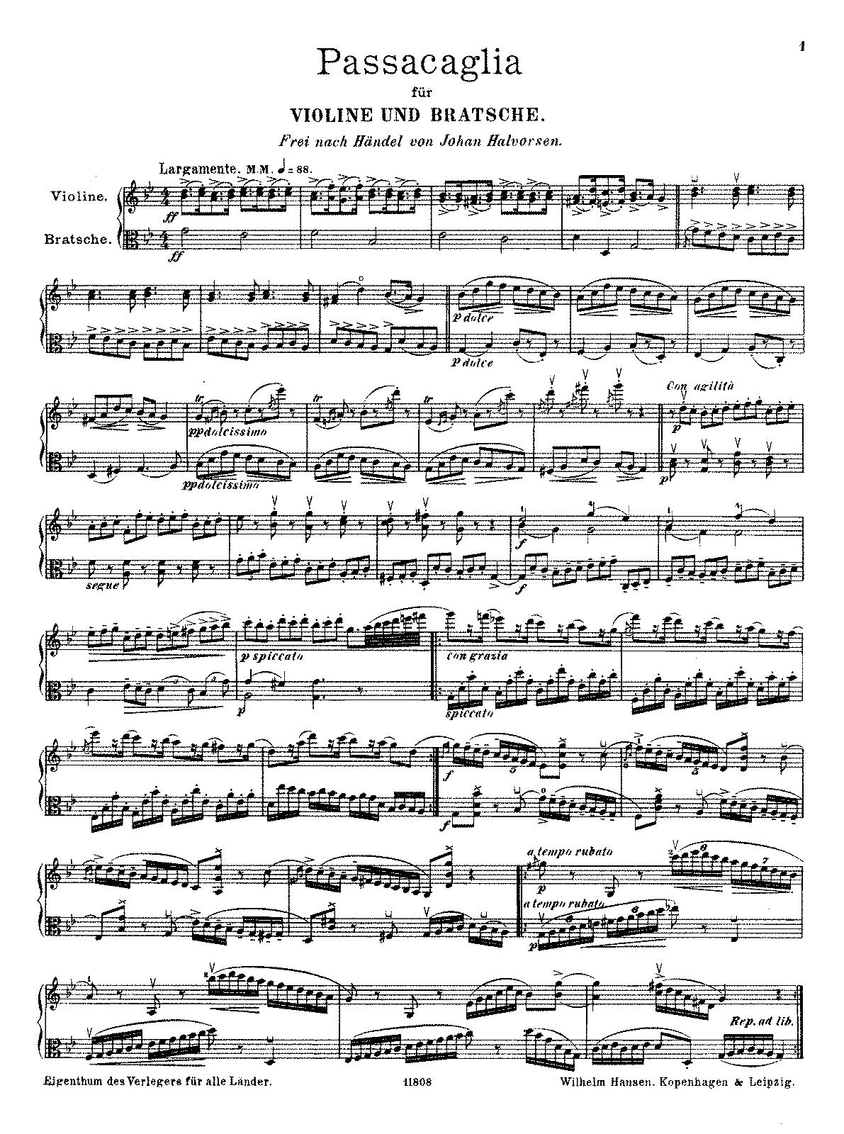 Passacaglia for violin and viola halvorsen johan imslp printed copy of this fileparts 2 hexwebz Images