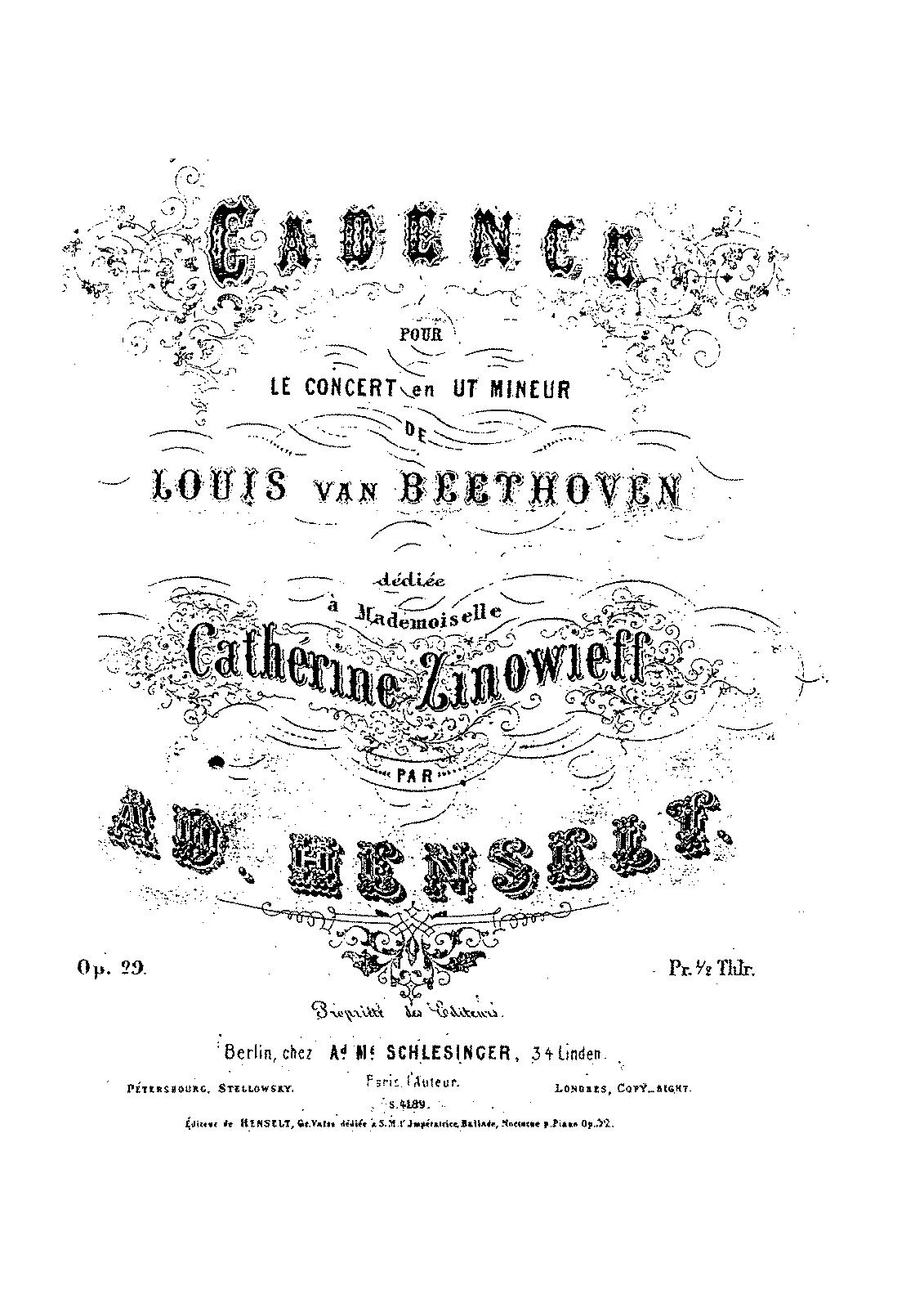 piano concerto no 3  op 37  beethoven  ludwig van
