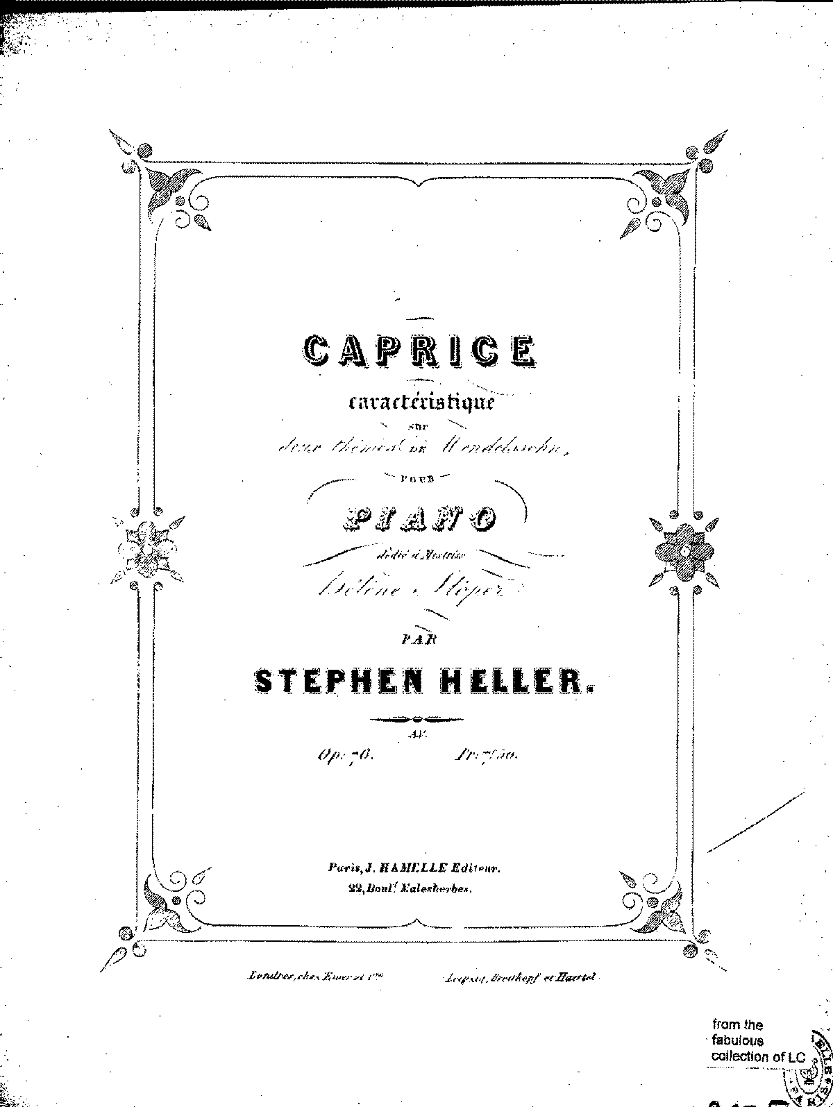 Heller - Op.76 - Caprice on a Theme of Mendelssohn.pdf