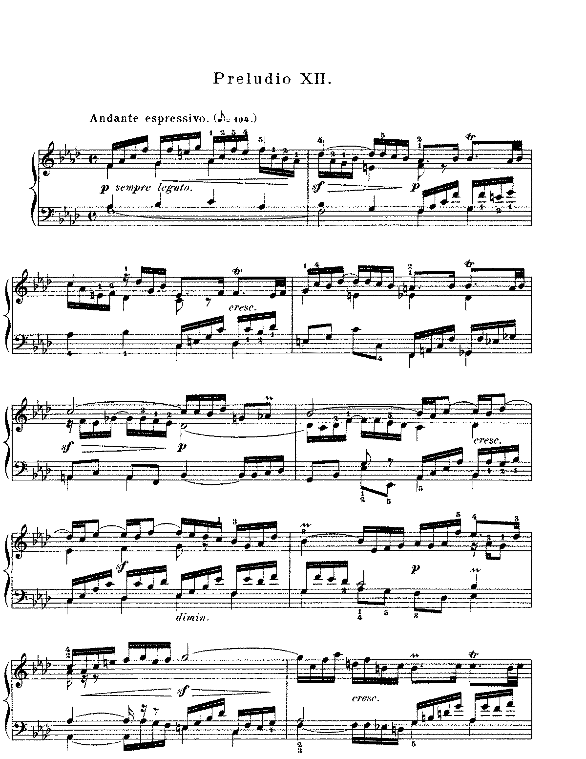 Prelude and fugue in f minor bwv 857 bach johann sebastian all editionsschirmer volinted copy of this file hexwebz Image collections